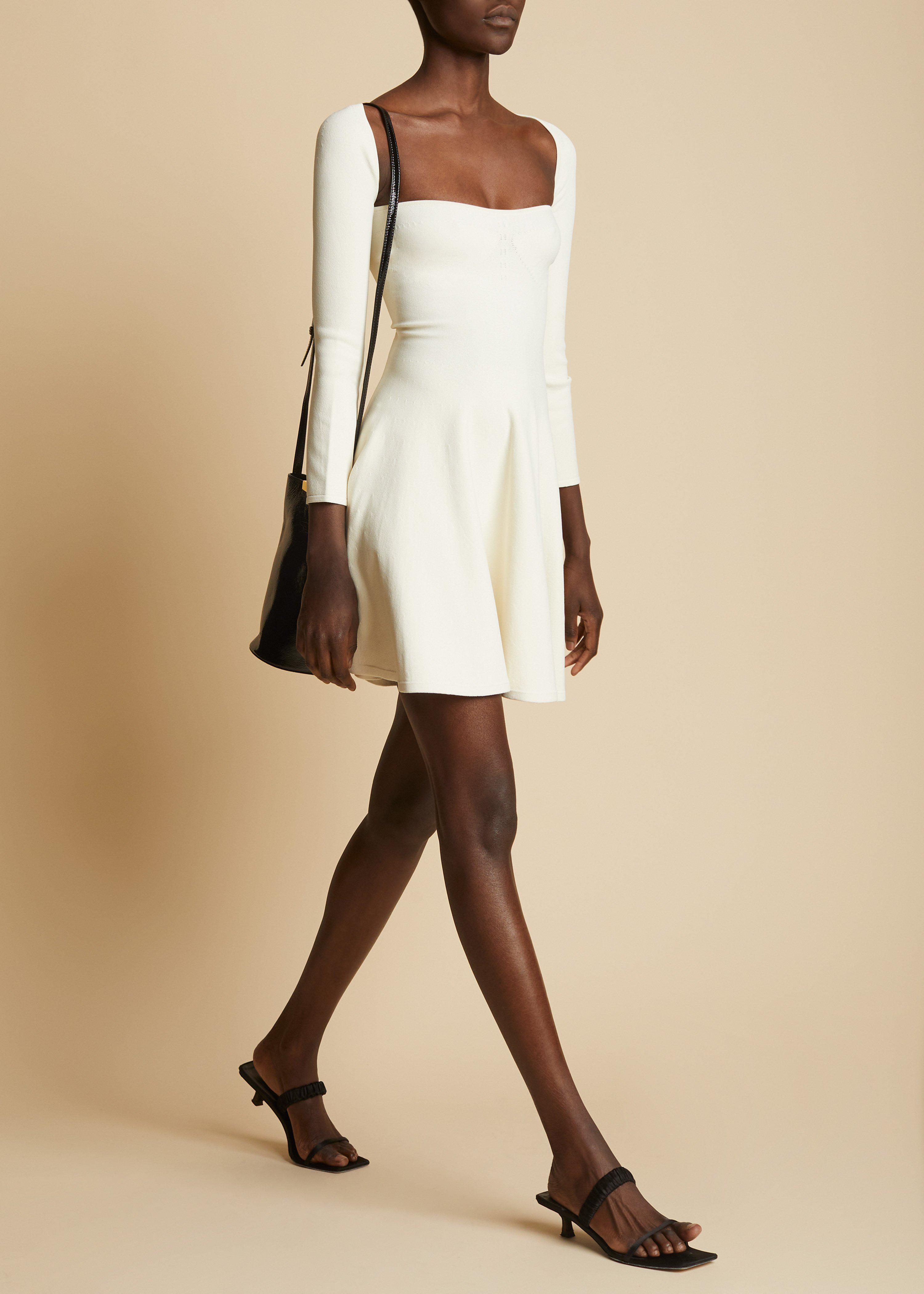 The Dylan Dress in Ivory