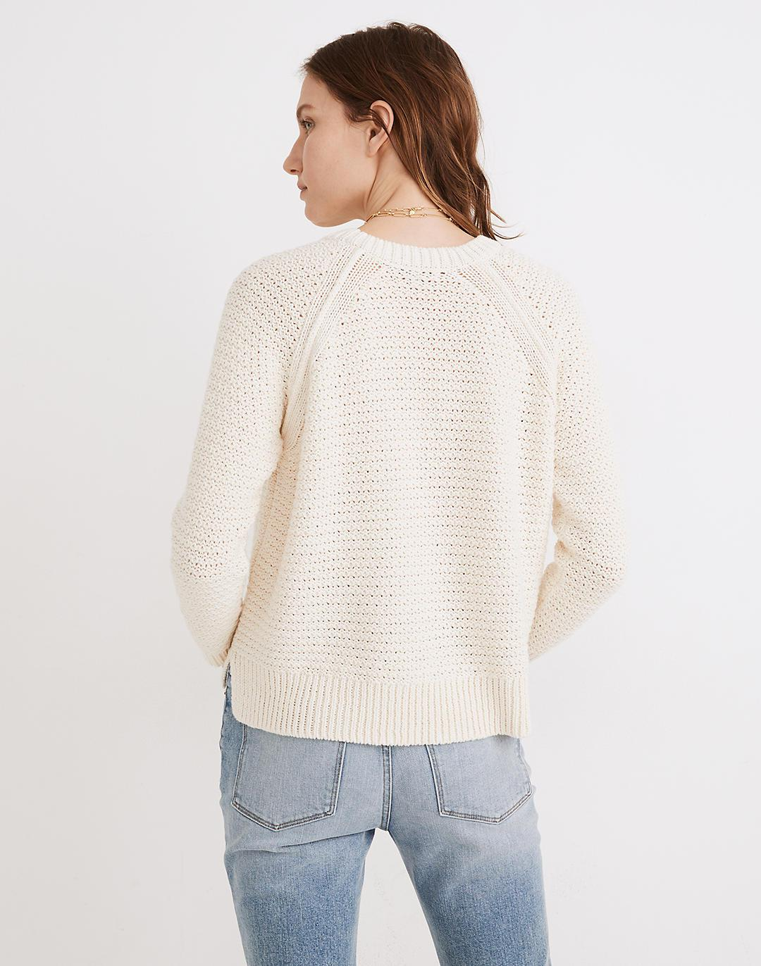 Open-Stitch Hopedale Pullover Sweater 2