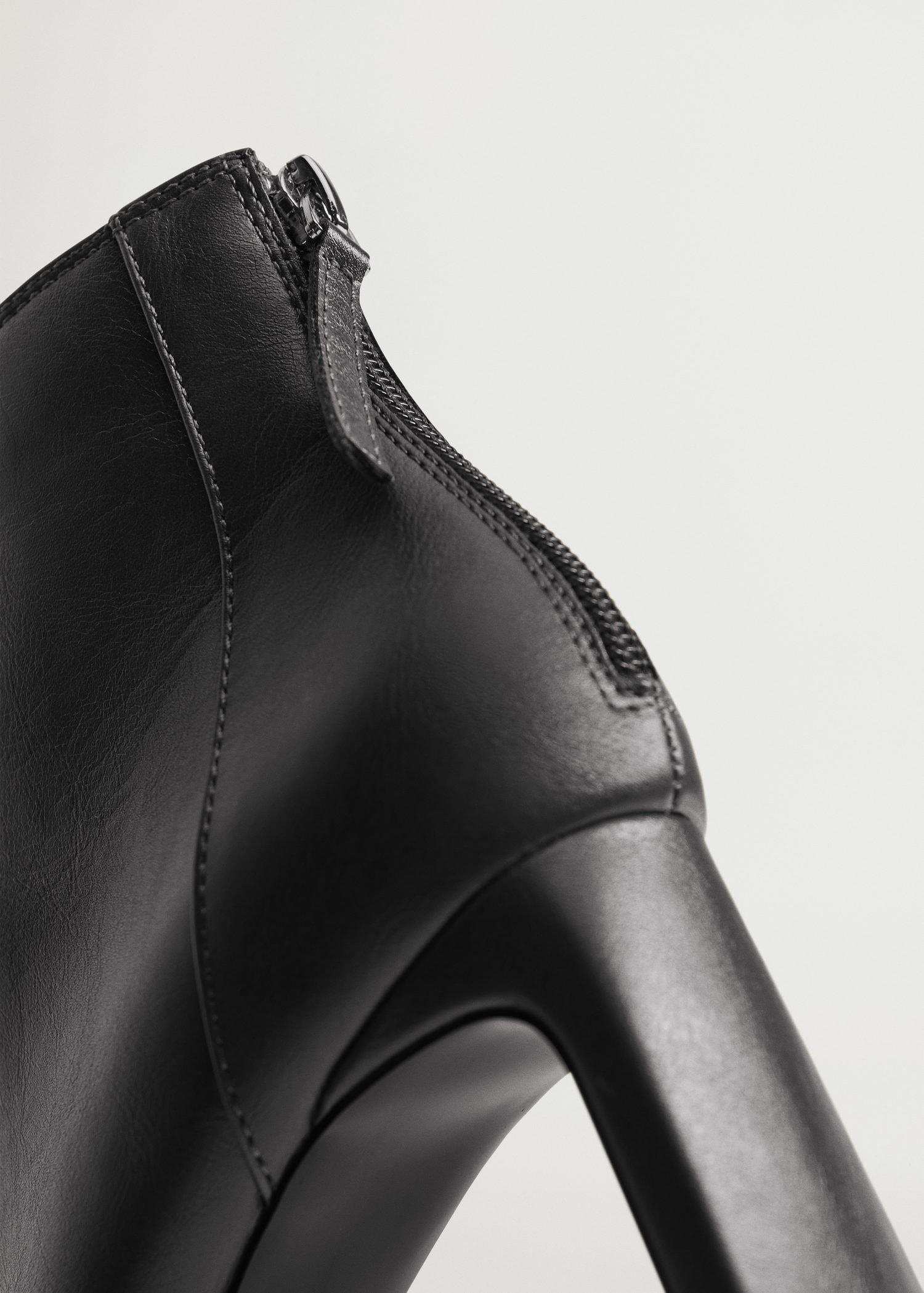 Squared-toe ankle boots 4