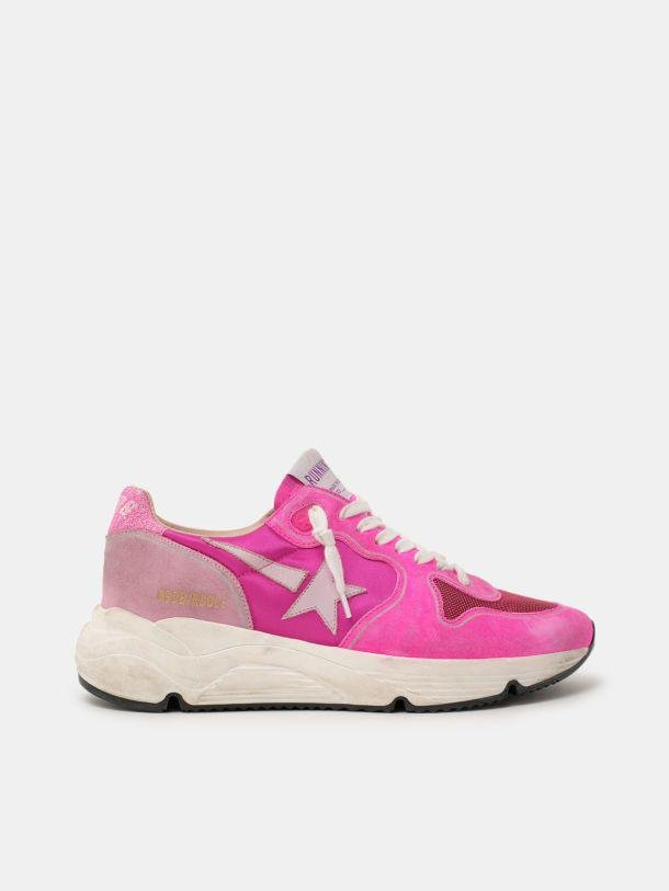 Fuchsia and pink Running Sole sneakers