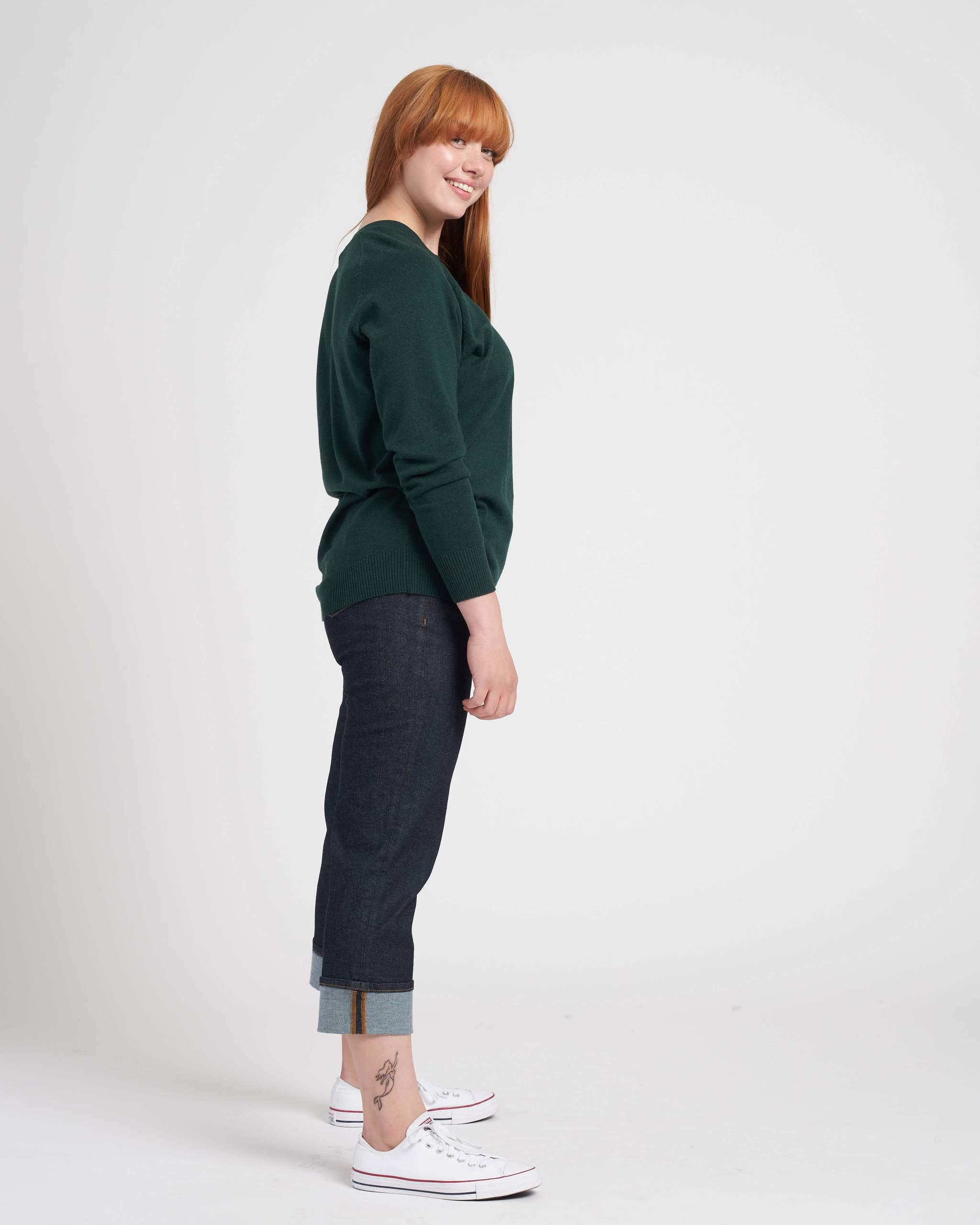 Eco Relaxed Core Sweater 2