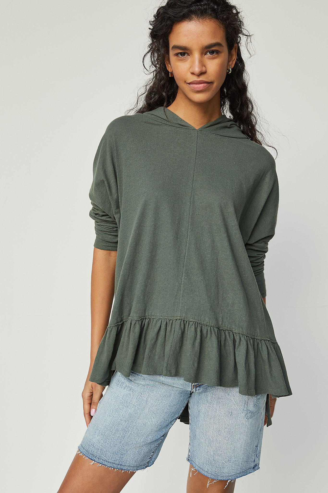 Corinthia Hooded Pullover