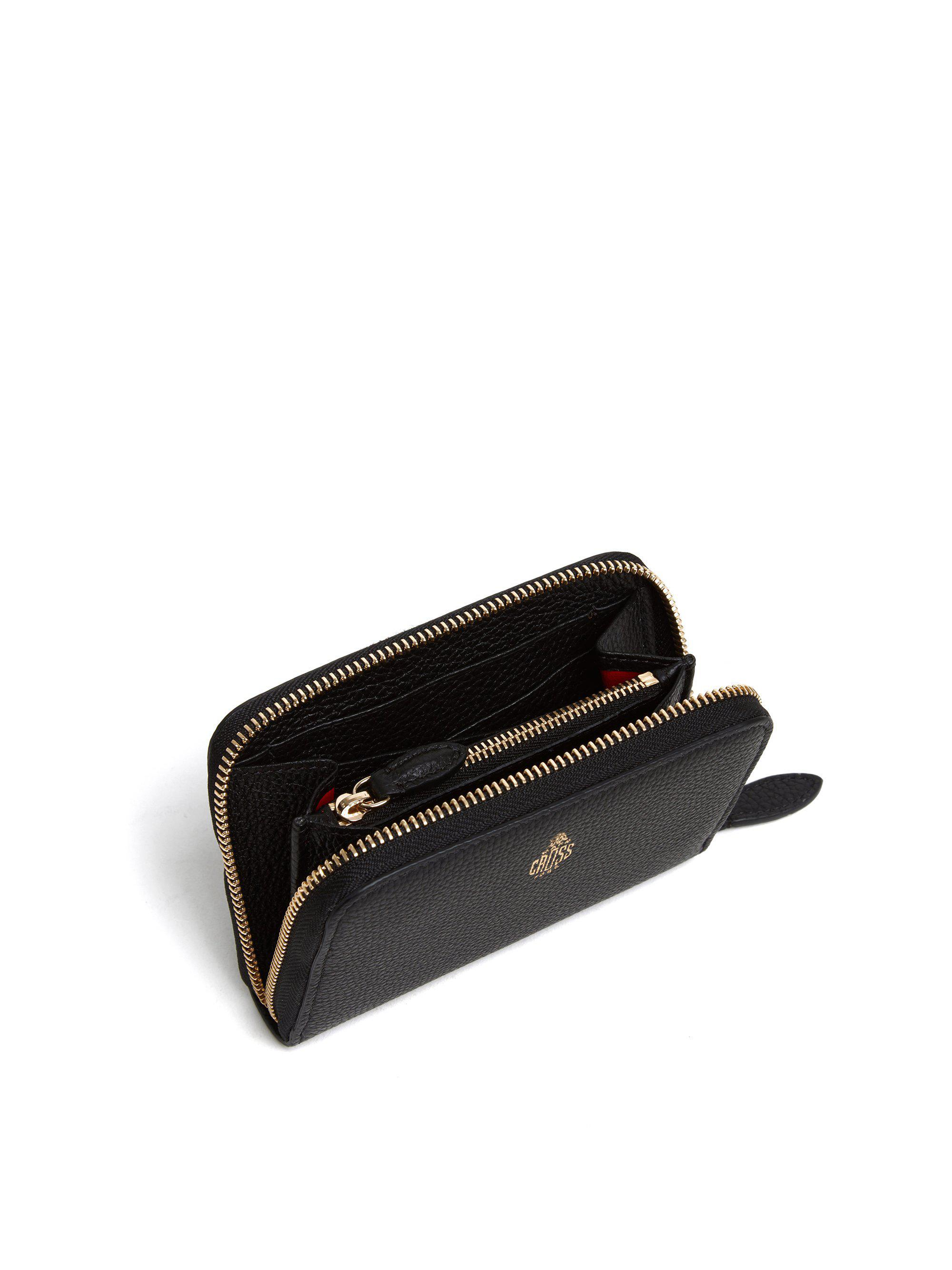 Small Leather Zip Wallet 4
