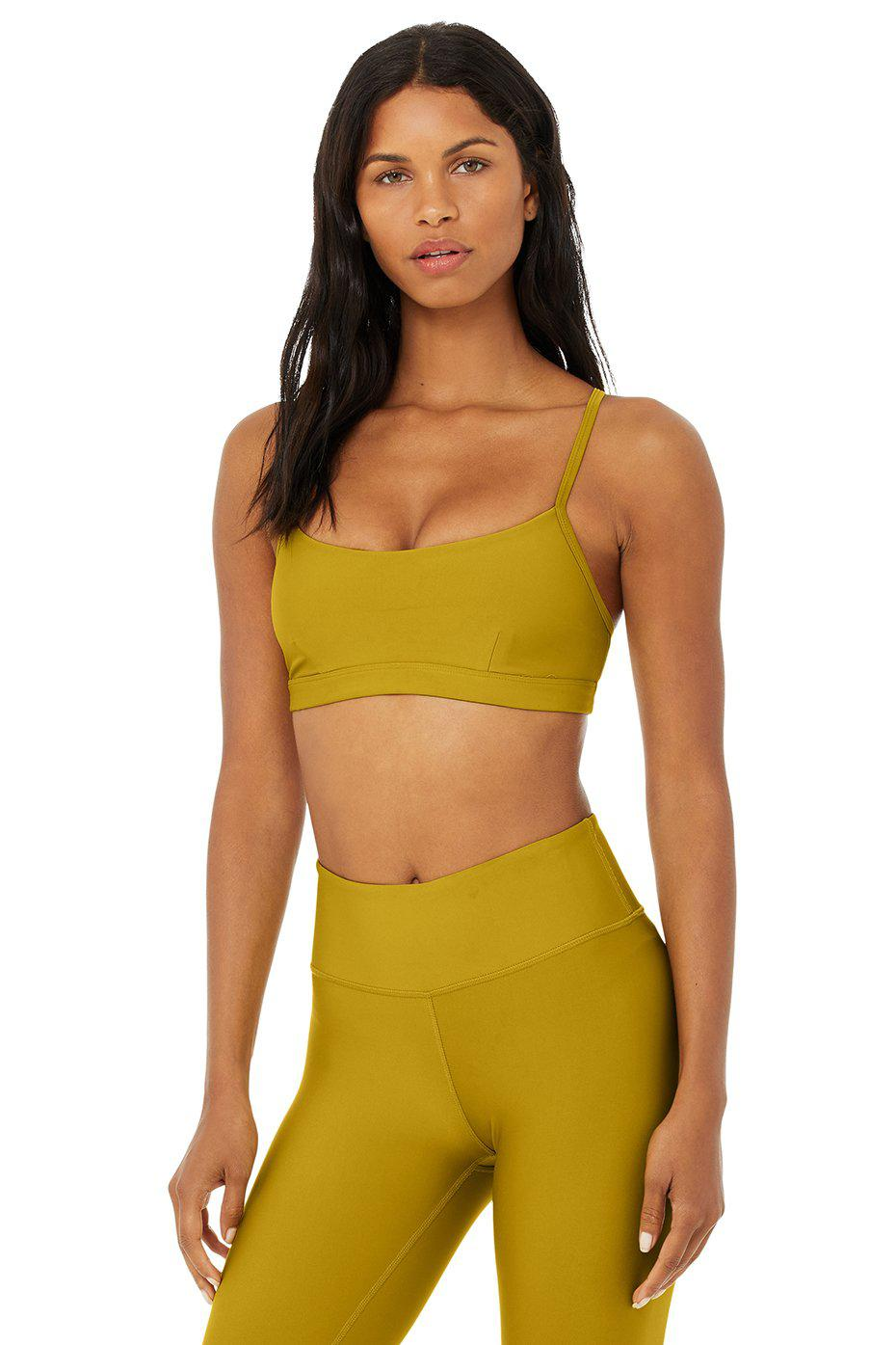 Airlift Intrigue Bra - Chartreuse 0
