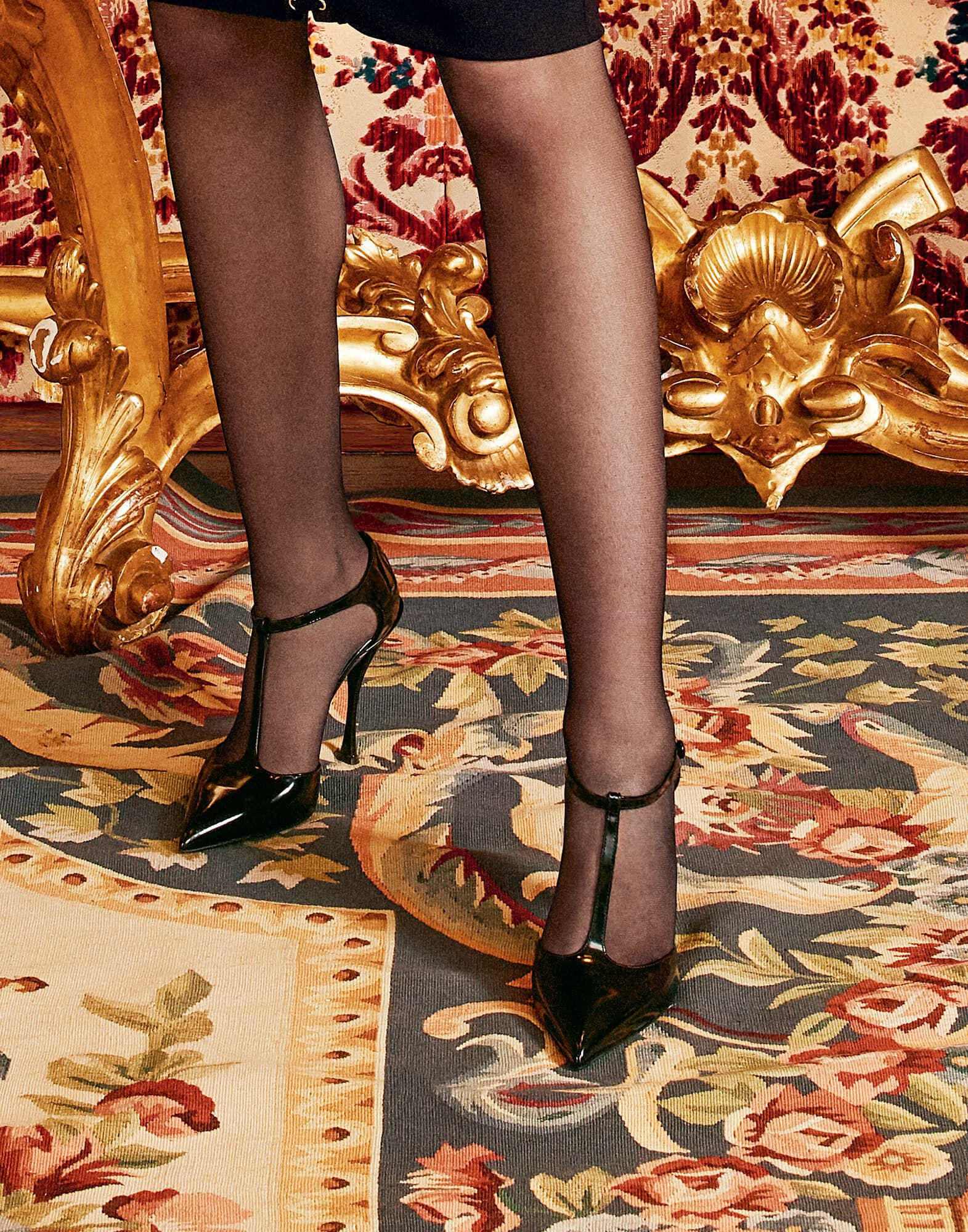 Bellucci t-strap shoes in shiny calfskin 4