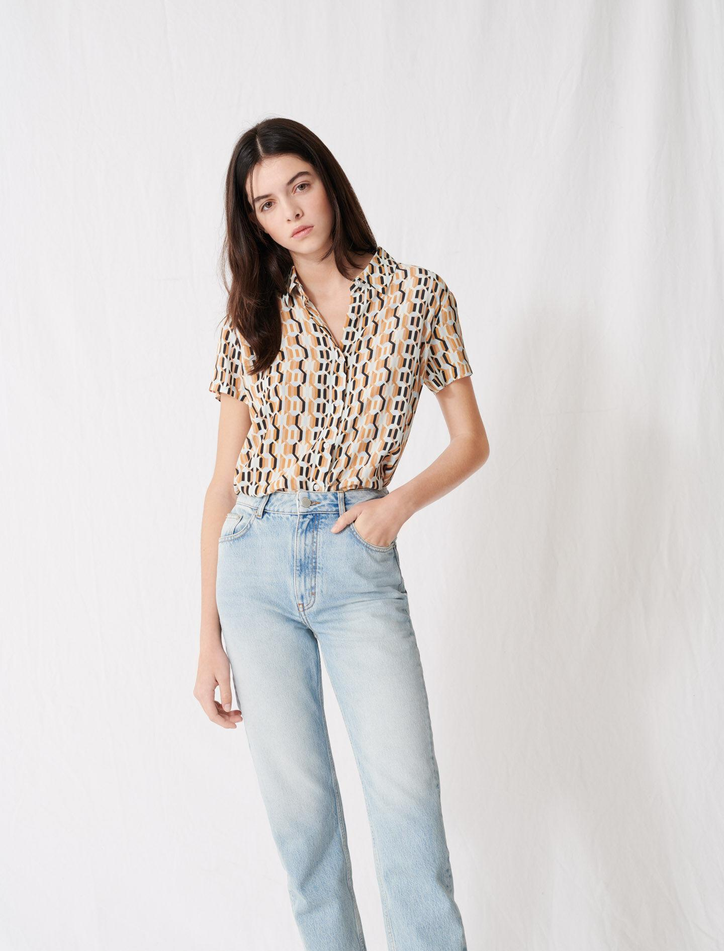 MOM-STYLE HIGH-WAISTED JEANS