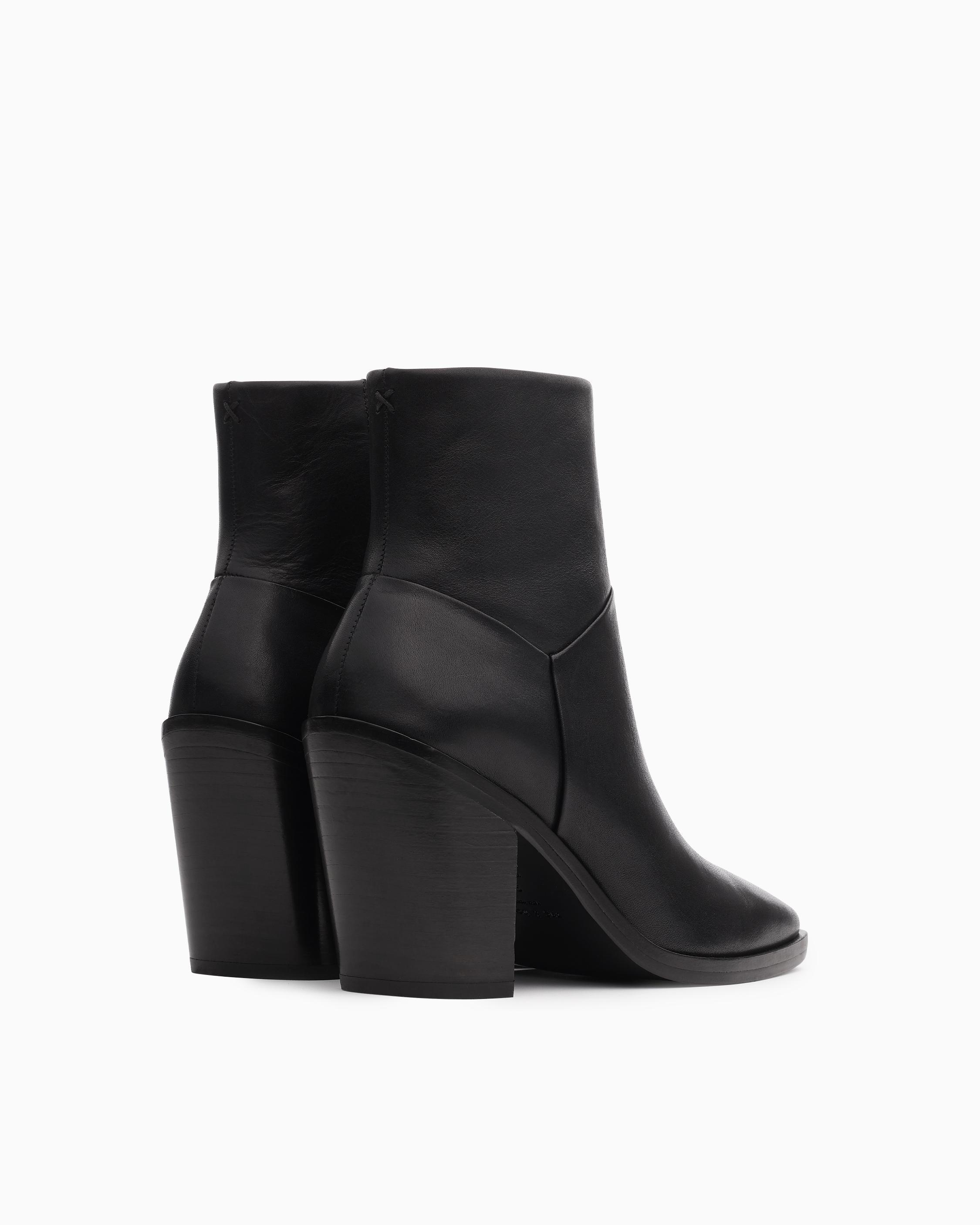 Axel zip up boot - leather 1