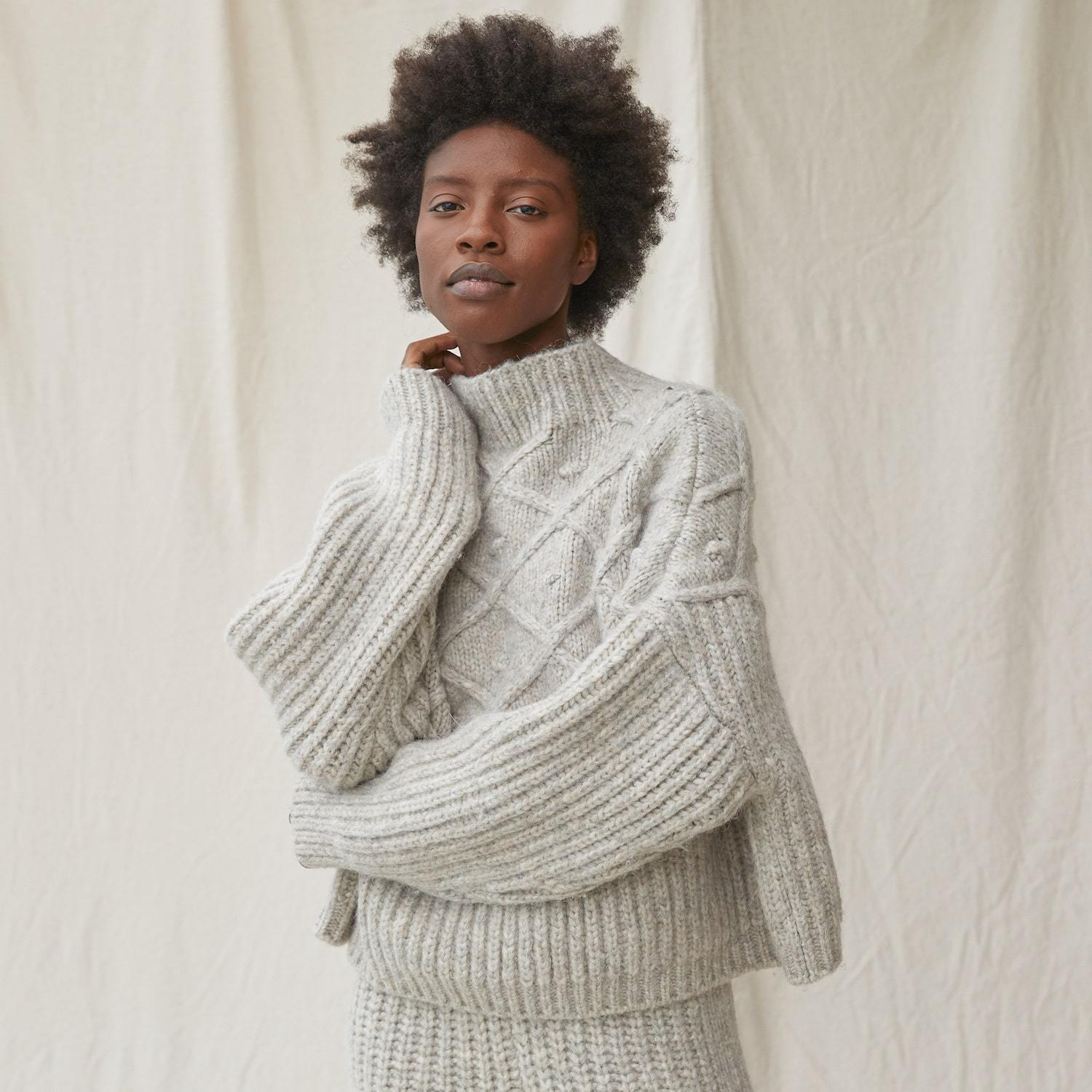 Chunky Wool Pullover 1