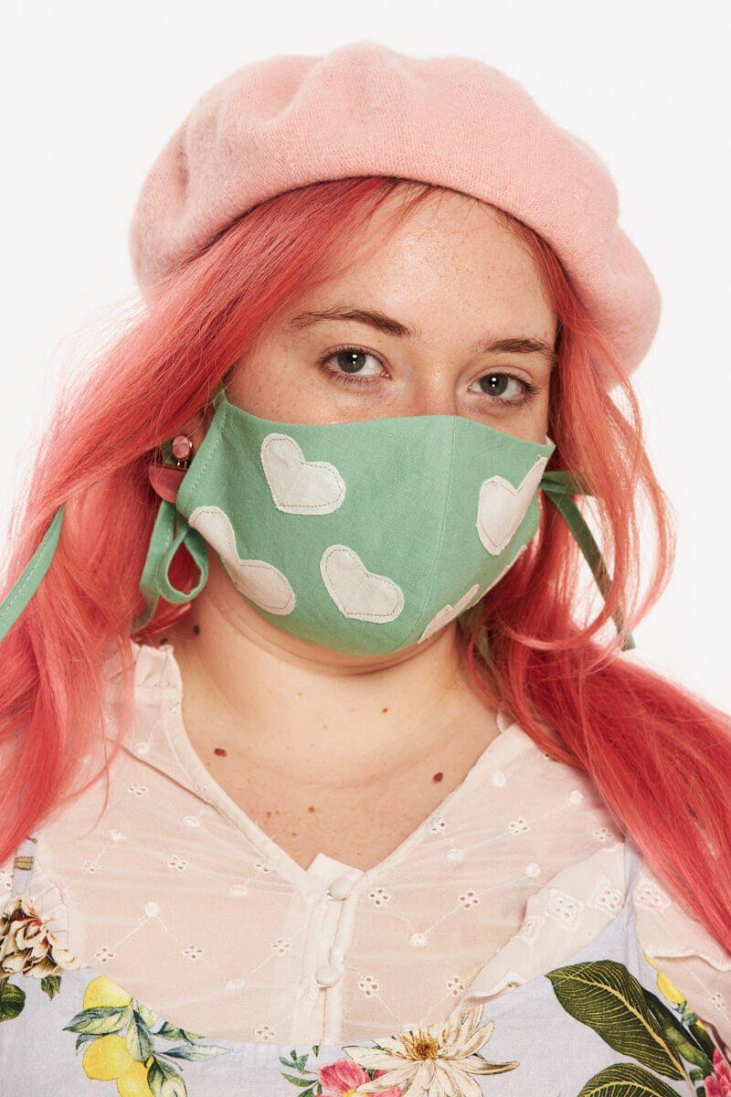 The Matchy Mask Hearts