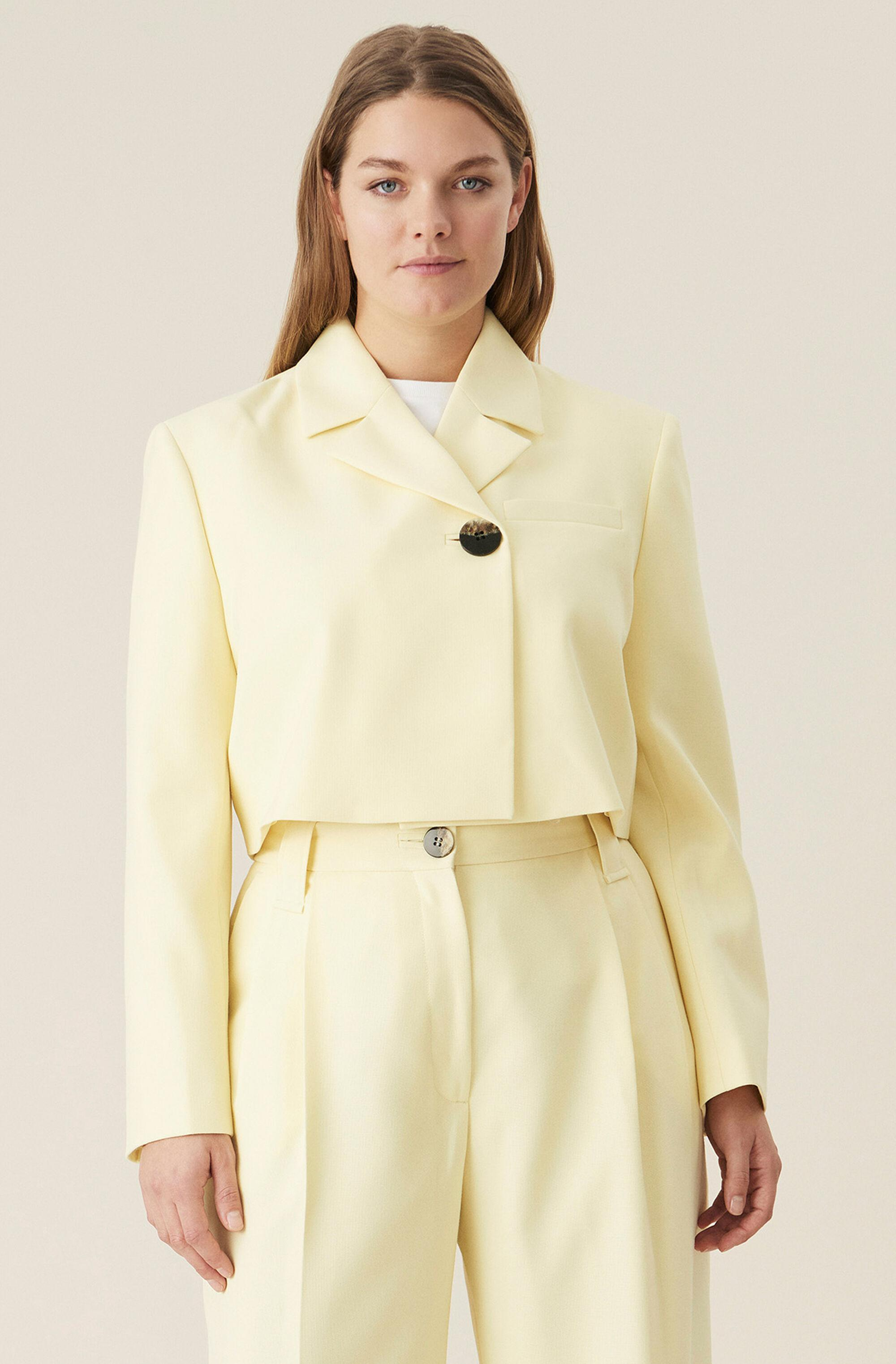 Summer Suiting Cropped Blazer