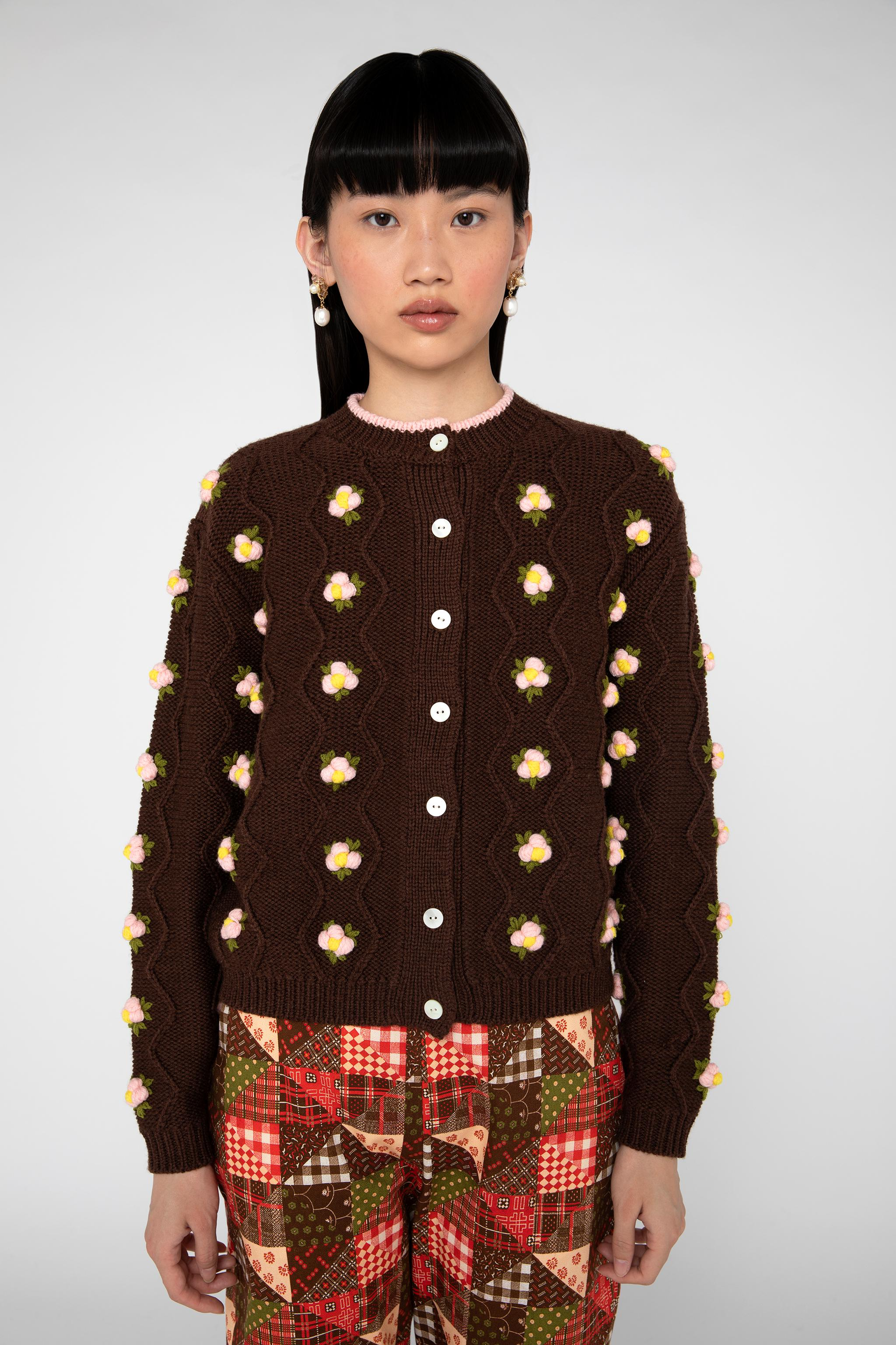 Chester Cardigan - Brown 3