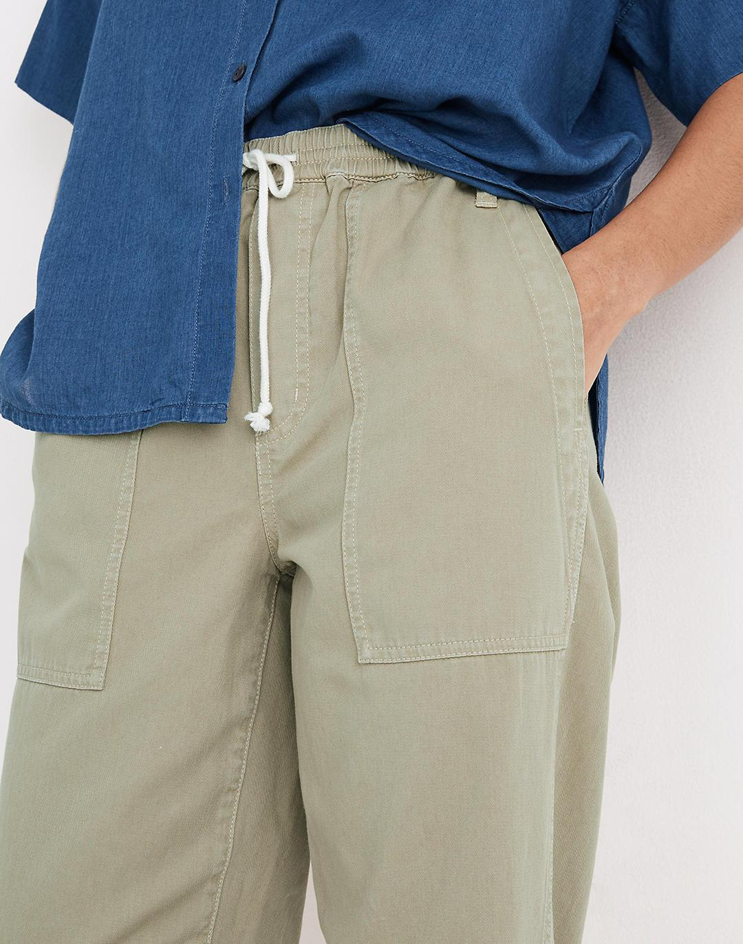 Pull-On Relaxed Pants 2