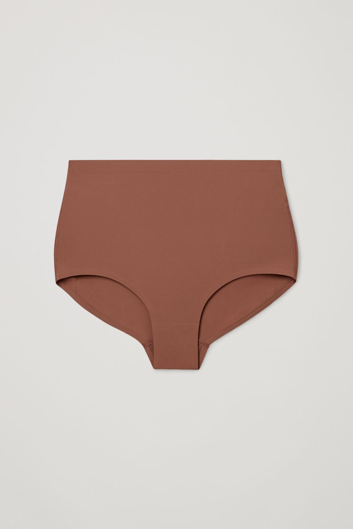 CONTROL HIGH-WAISTED RECYCLED NYLON BRIEFS