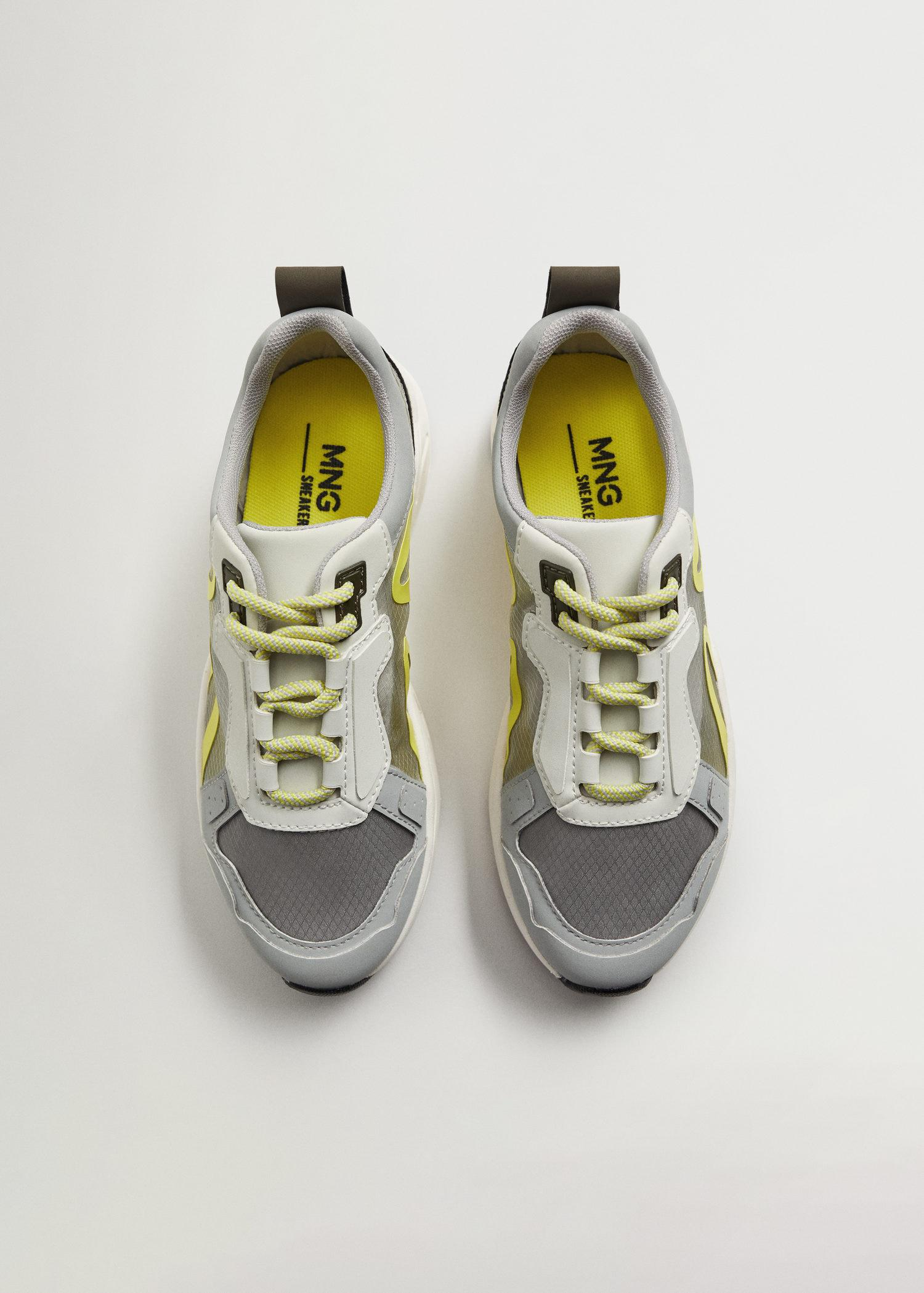 Shoes with transparent panels 2