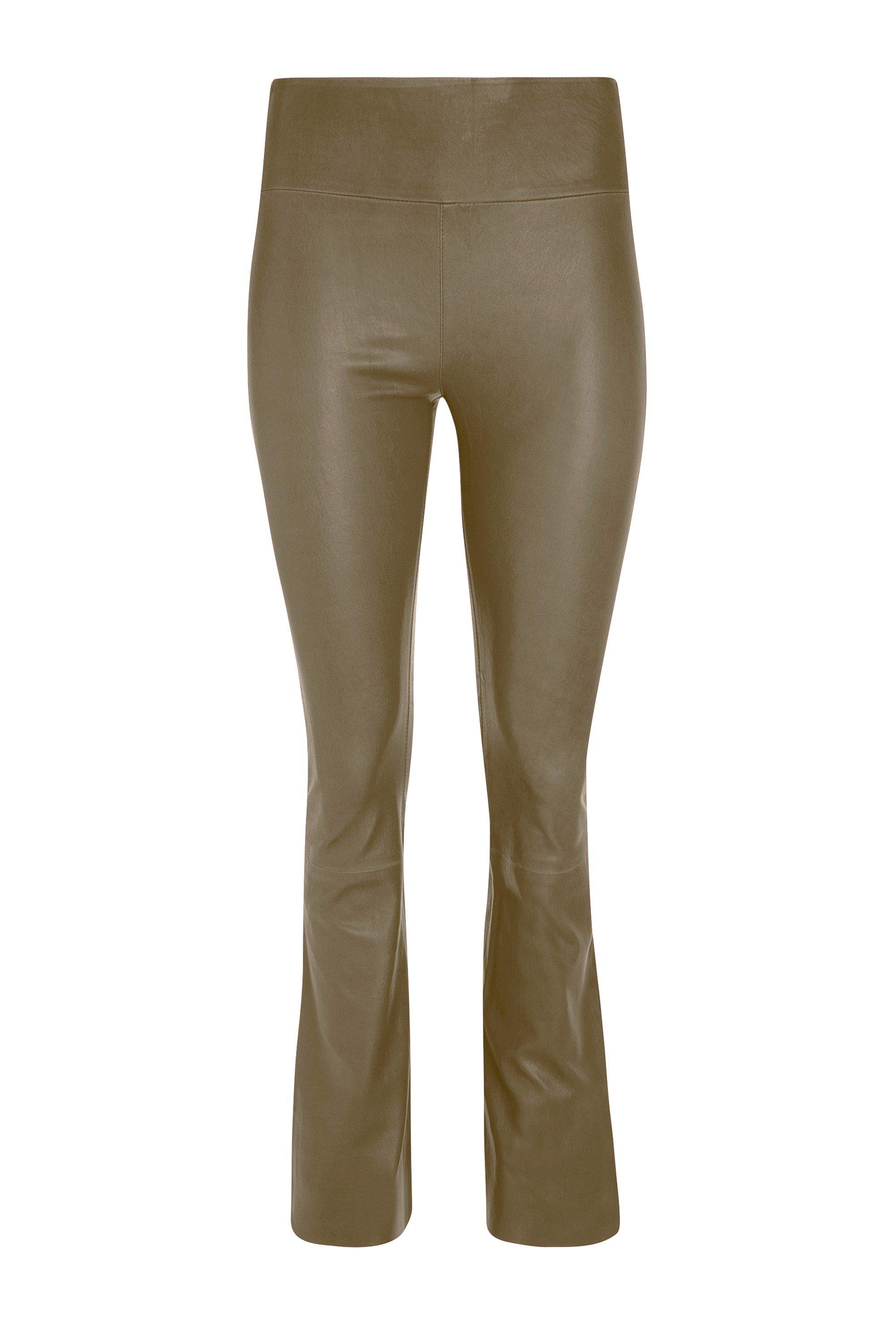 Sand Leather Ankle Flare Legging 2