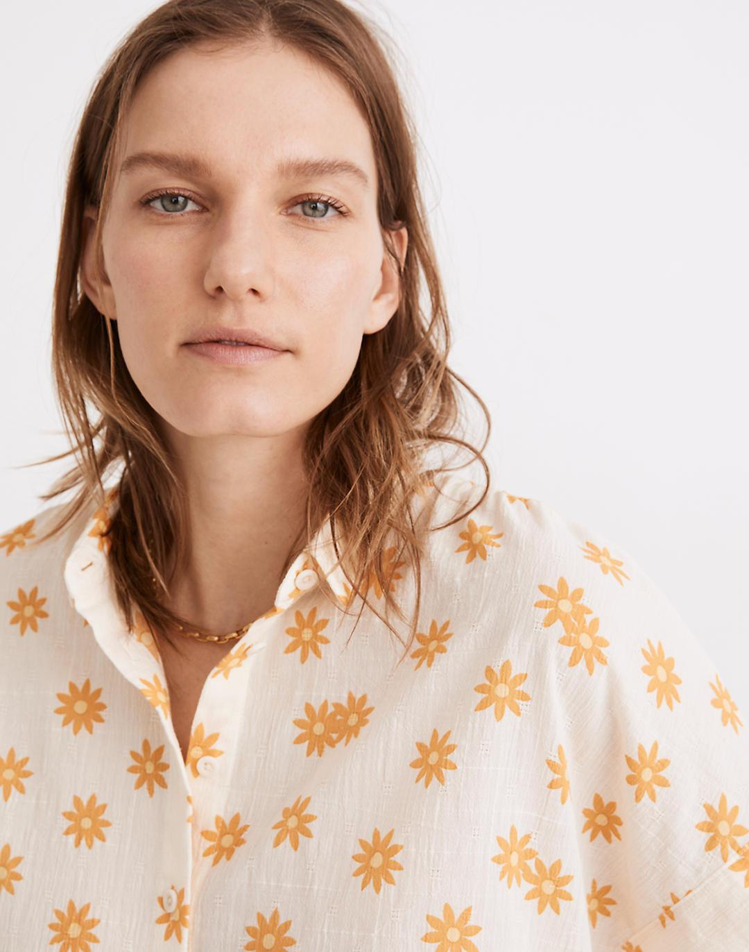 Hilltop Shirt in Daisy Groove 1
