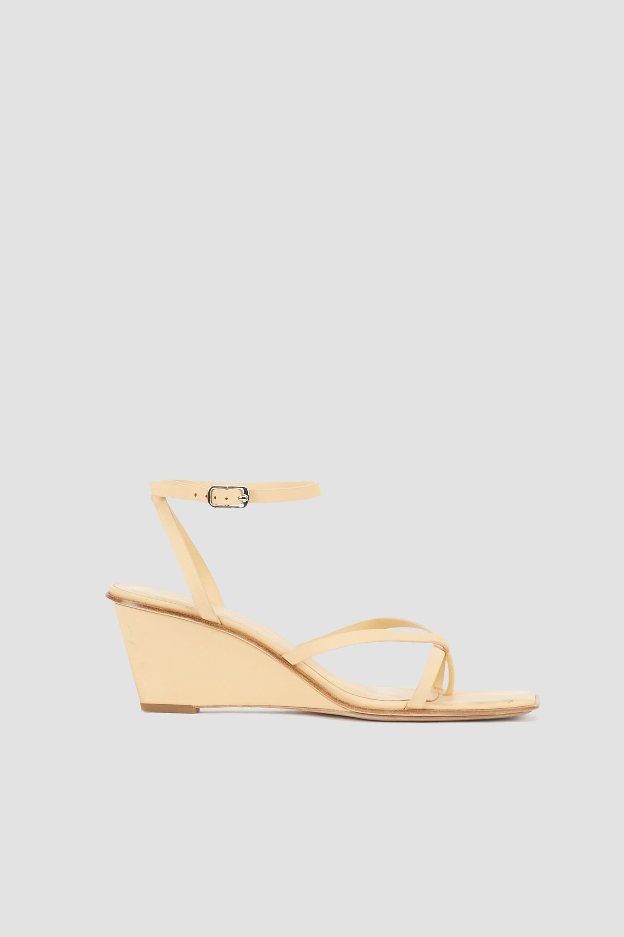 Laura Ankle Wrap Wedge Sandal