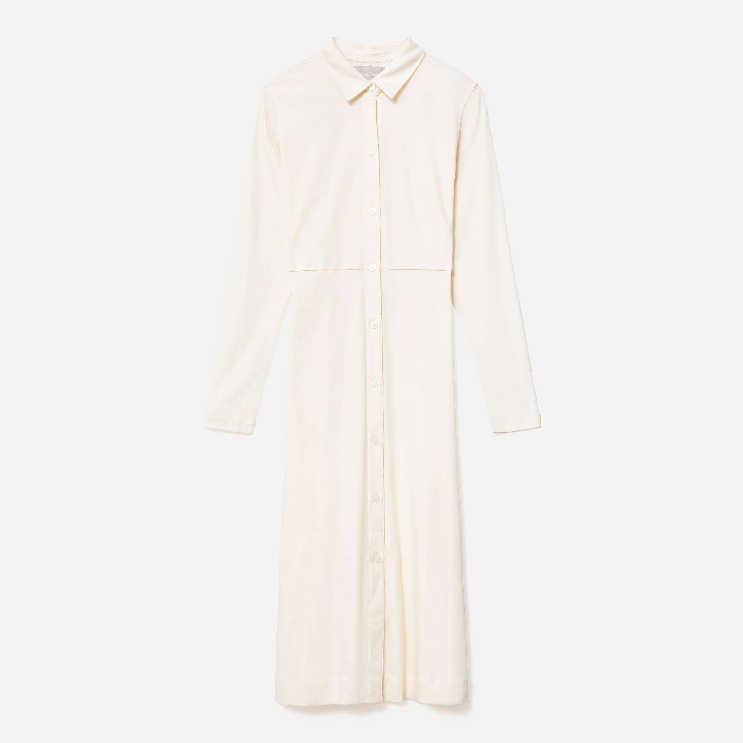 The Luxe Cotton Shirtdress 4
