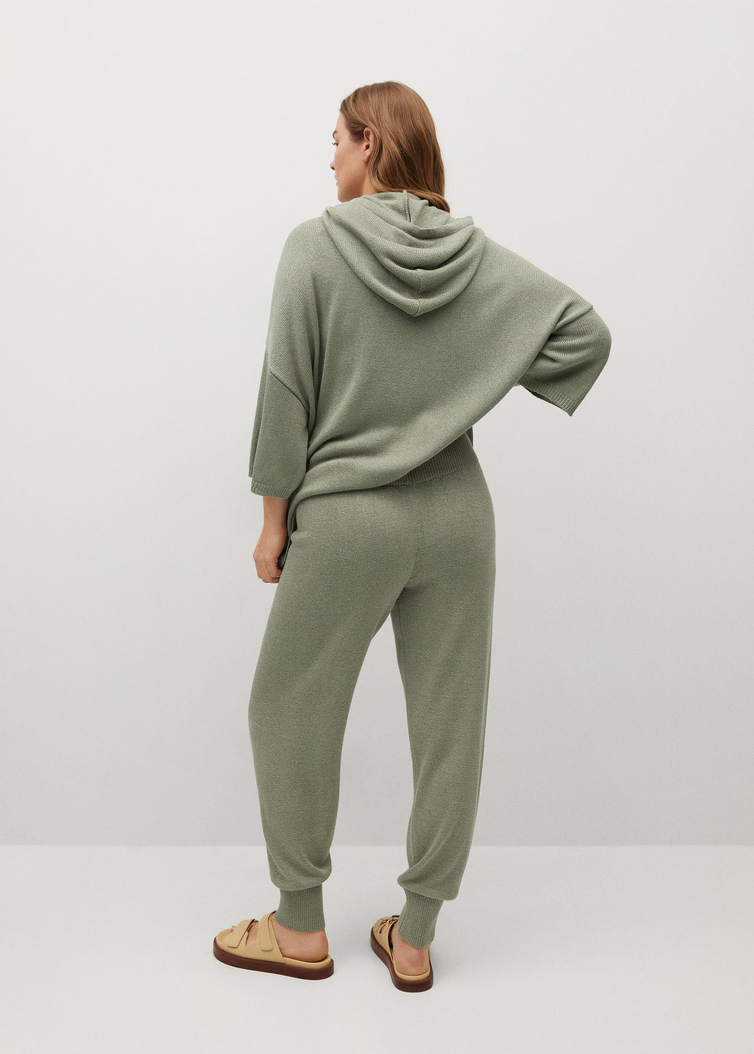 Baggy knit trousers 2