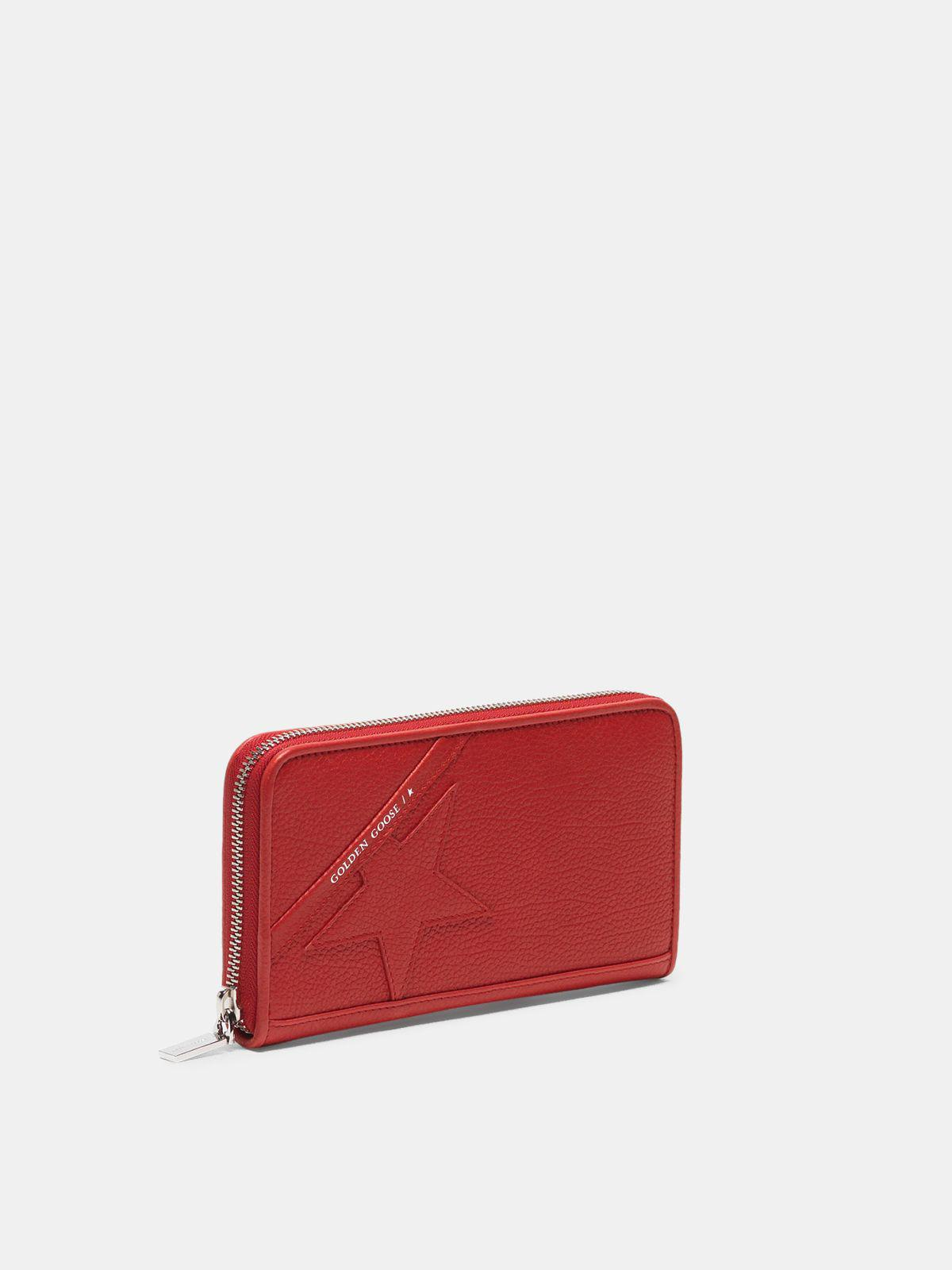 Large red Star Wallet 1