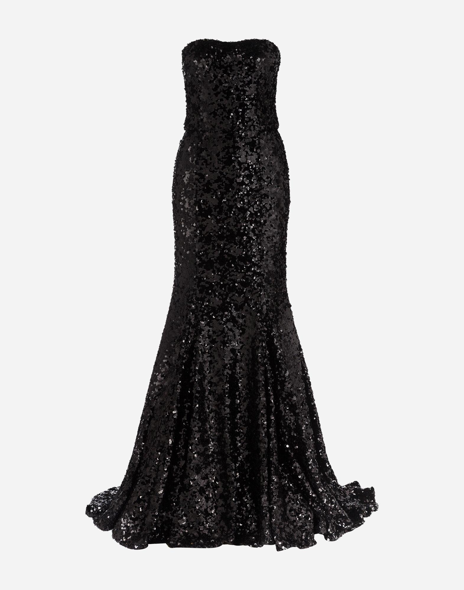 Long sequined dress 3