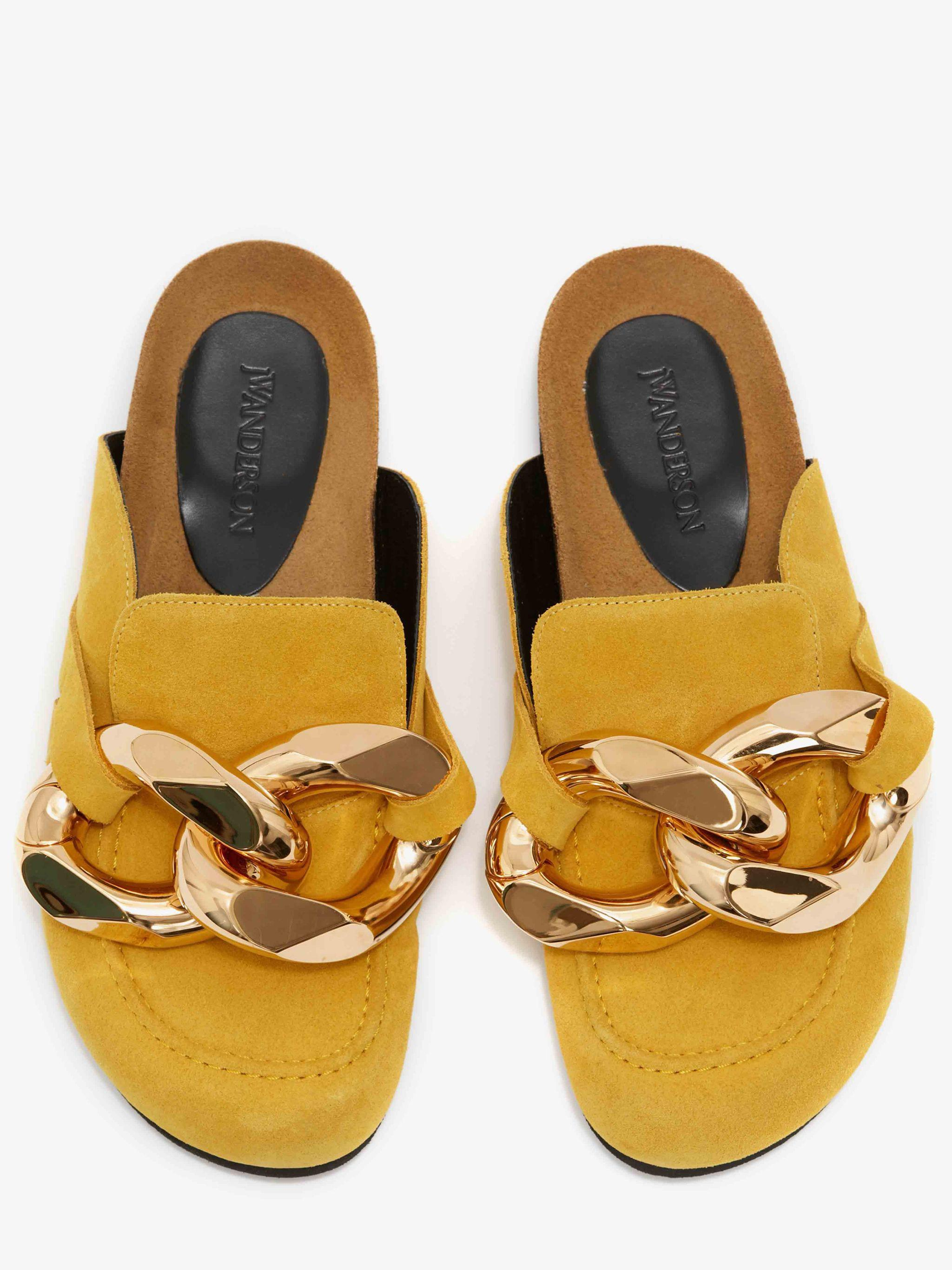 MEN'S CHAIN LOAFER MULES 3