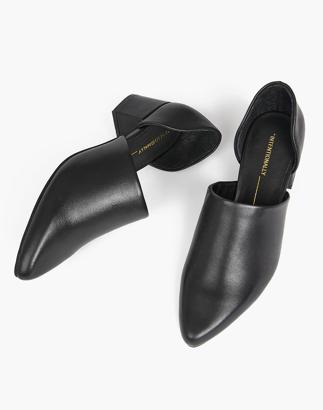 INTENTIONALLY BLANK Perf-hi D'Orsay Shoes