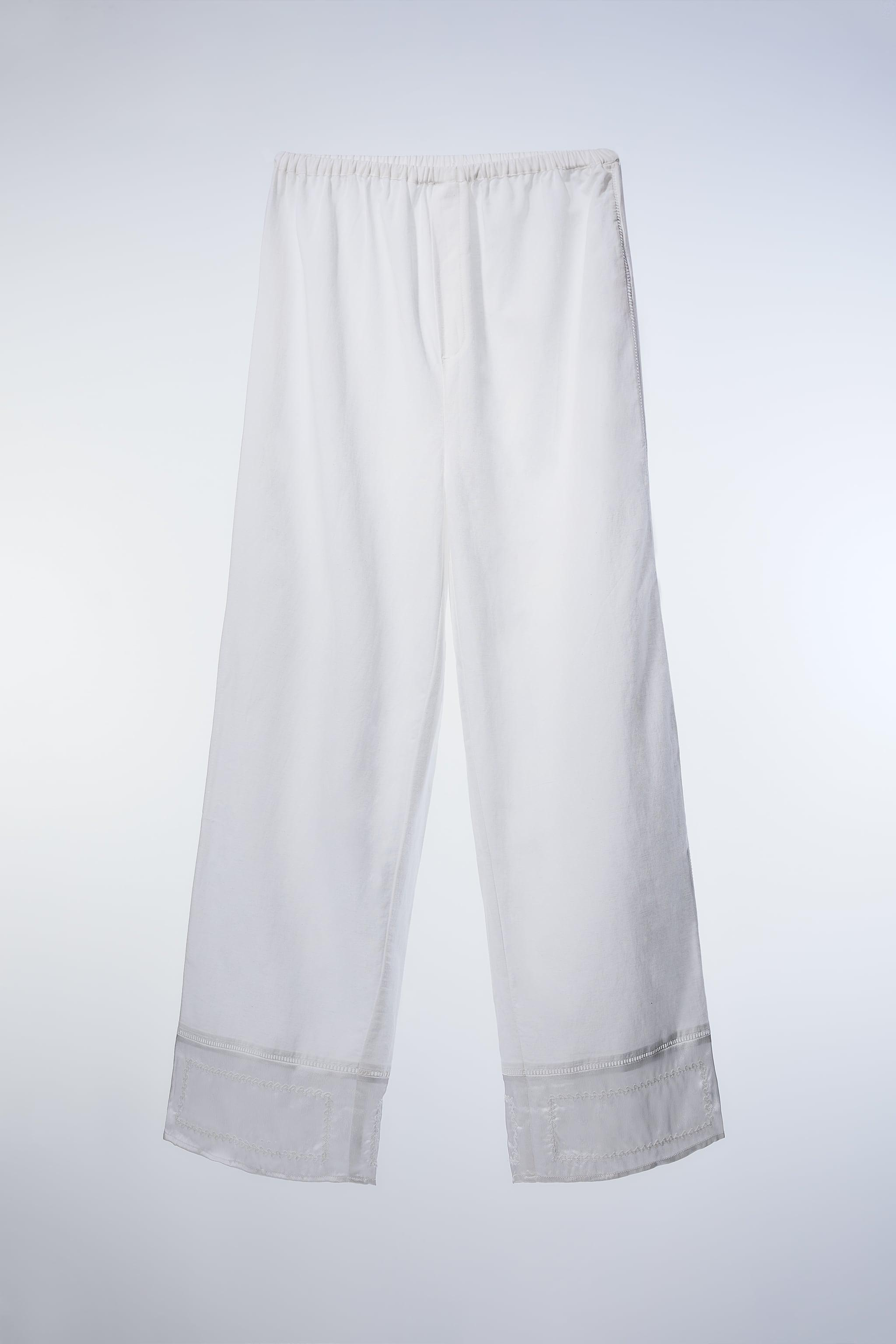 MIXED EMBROIDERED PANTS 2