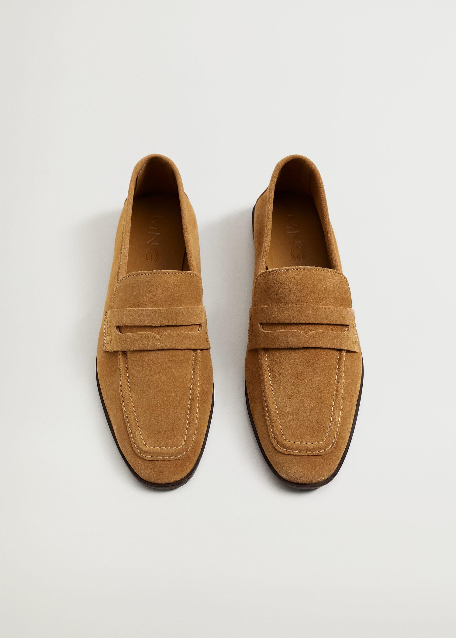 Suede leather moccasin 3
