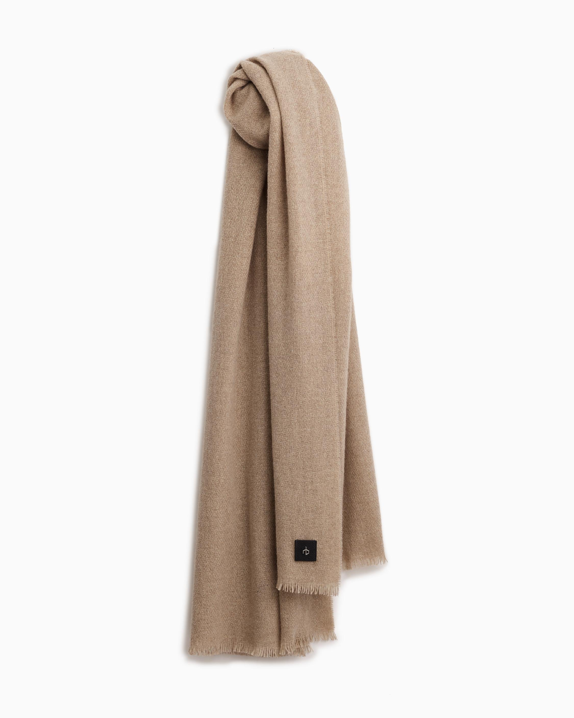 Riley cashmere solid scarf