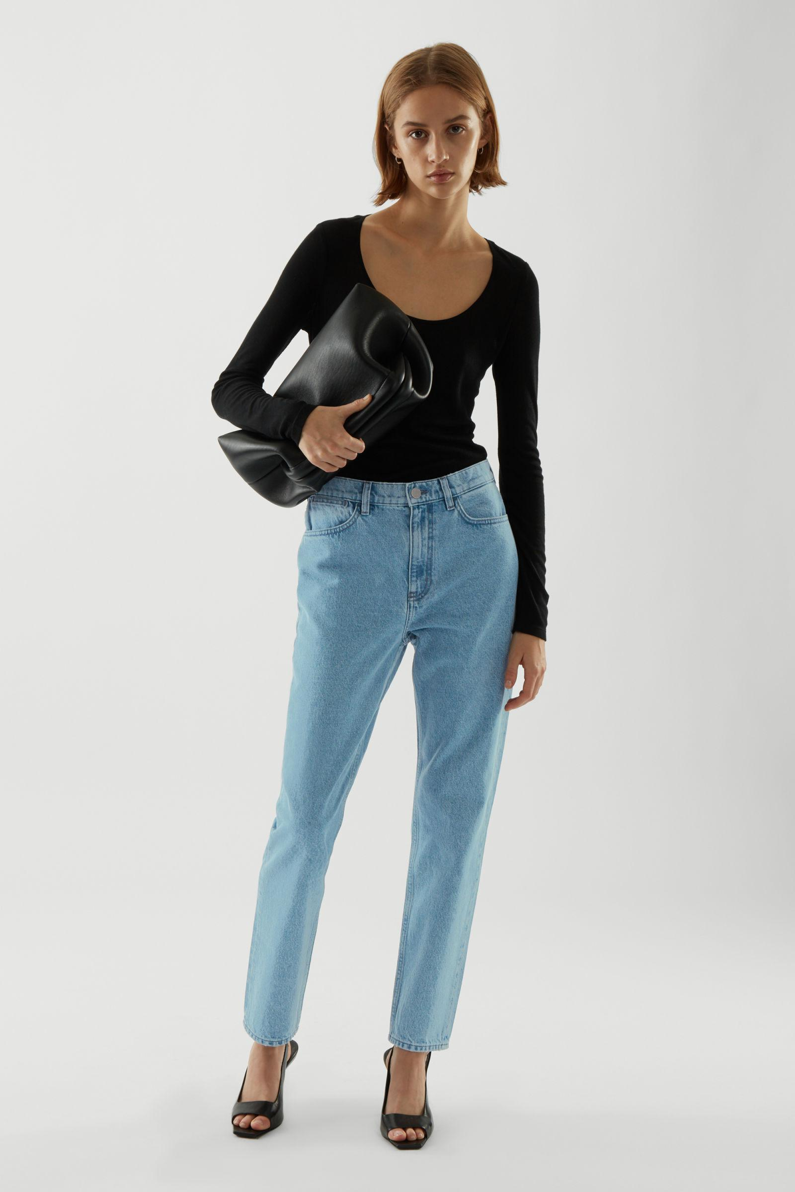 CROPPED STRAIGHT JEANS 2
