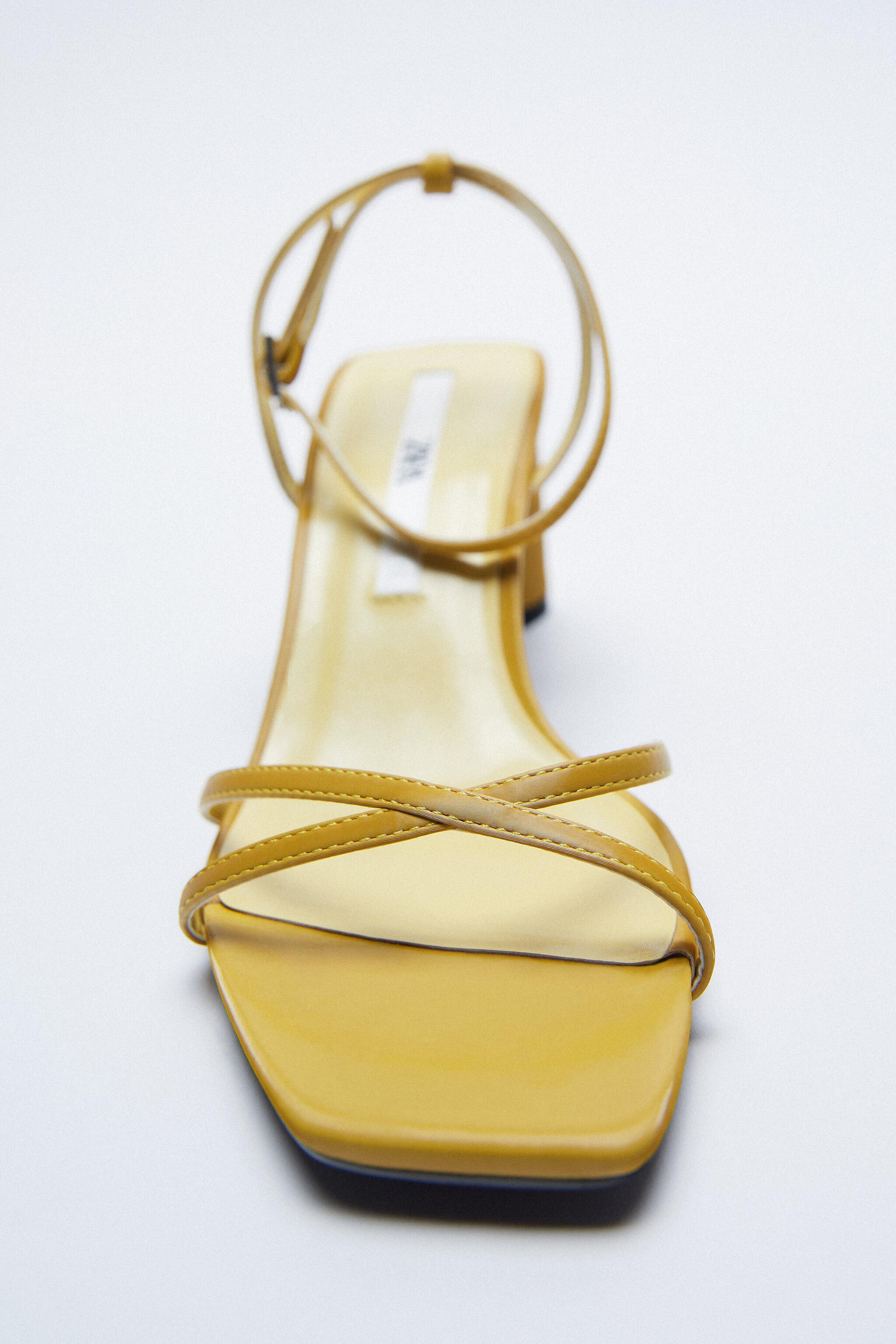 HEELED SANDALS WITH THIN STRAPS 4