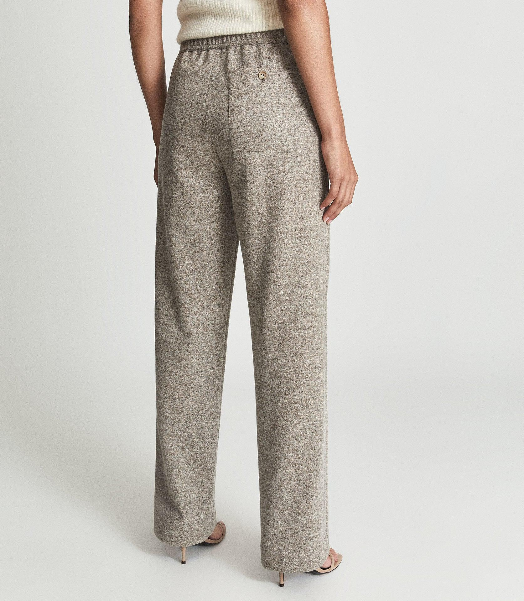 JOEY - TEXTURED WIDE LEG TROUSERS 3