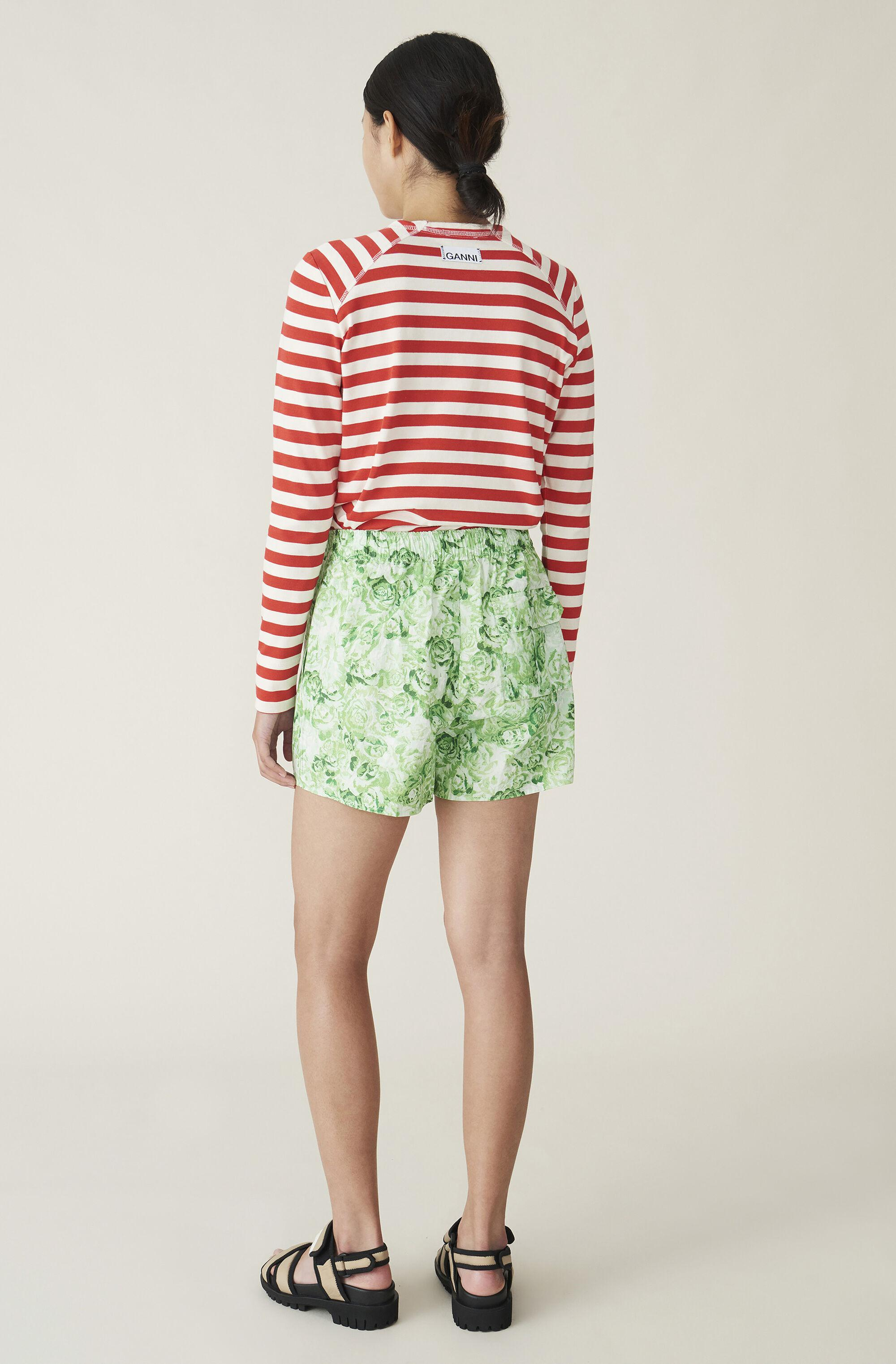 Striped Cotton Jersey Pullover 2