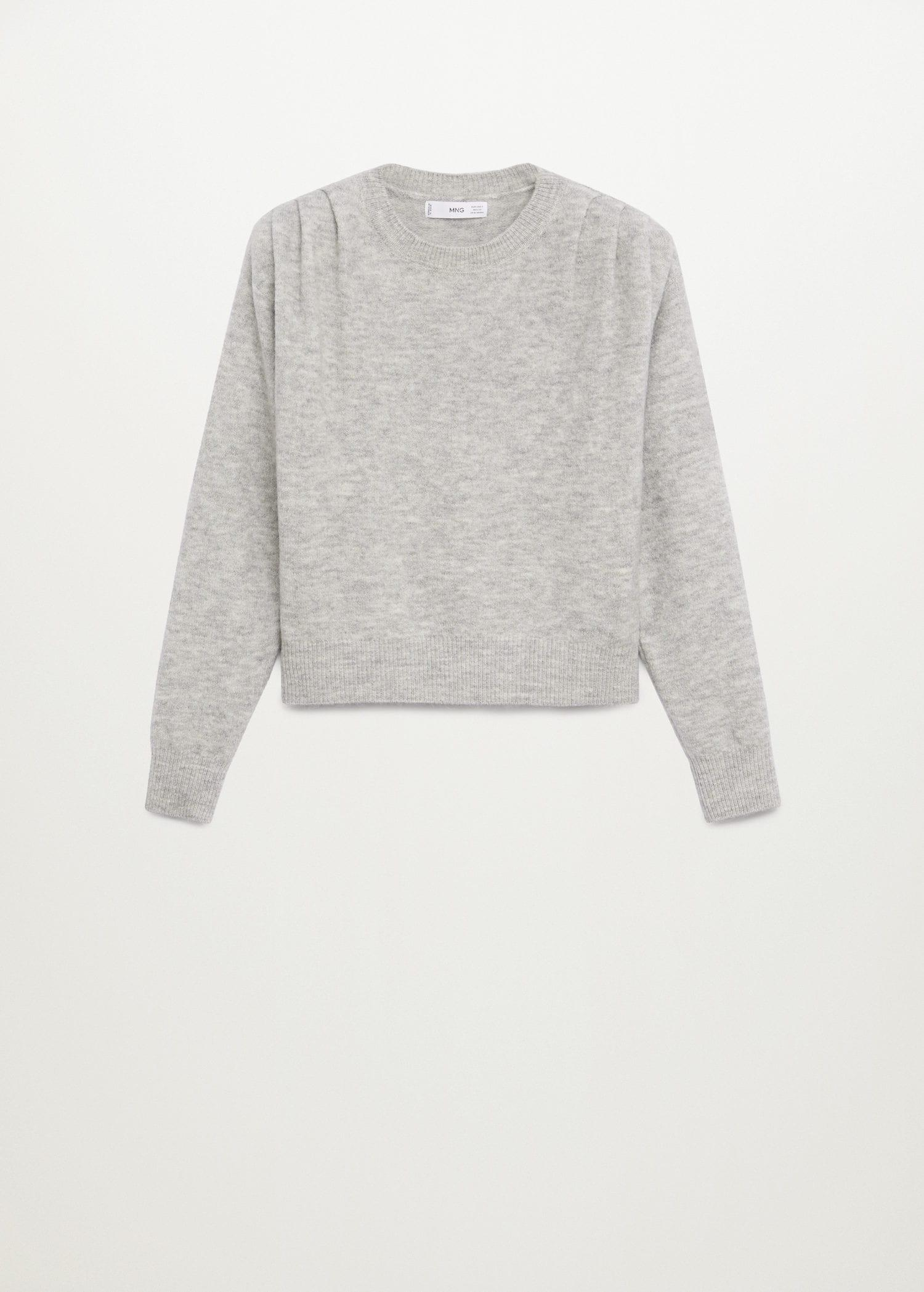 Pleated knit sweater 8