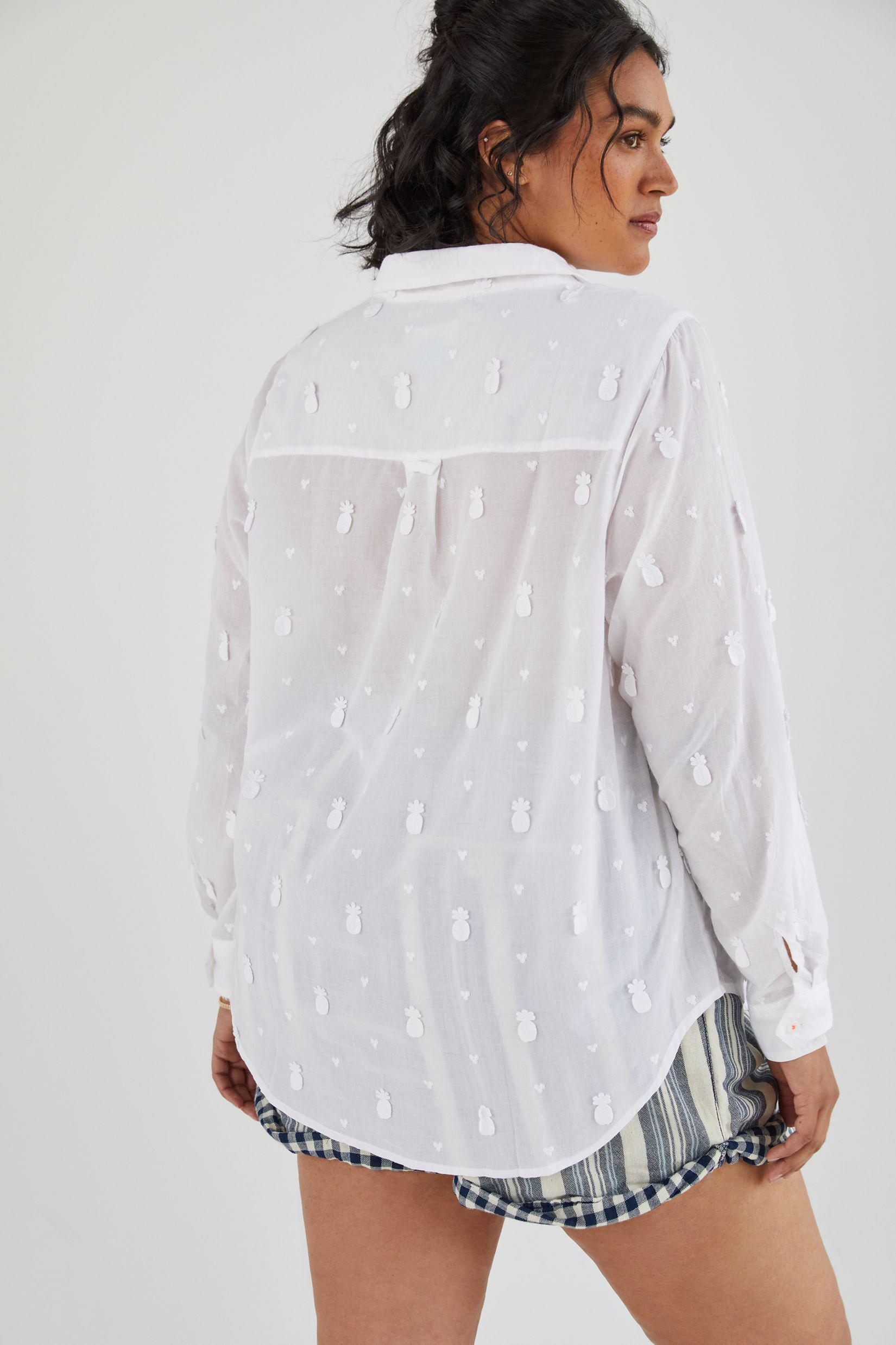 Maeve Classic Embroidered Buttondown 4