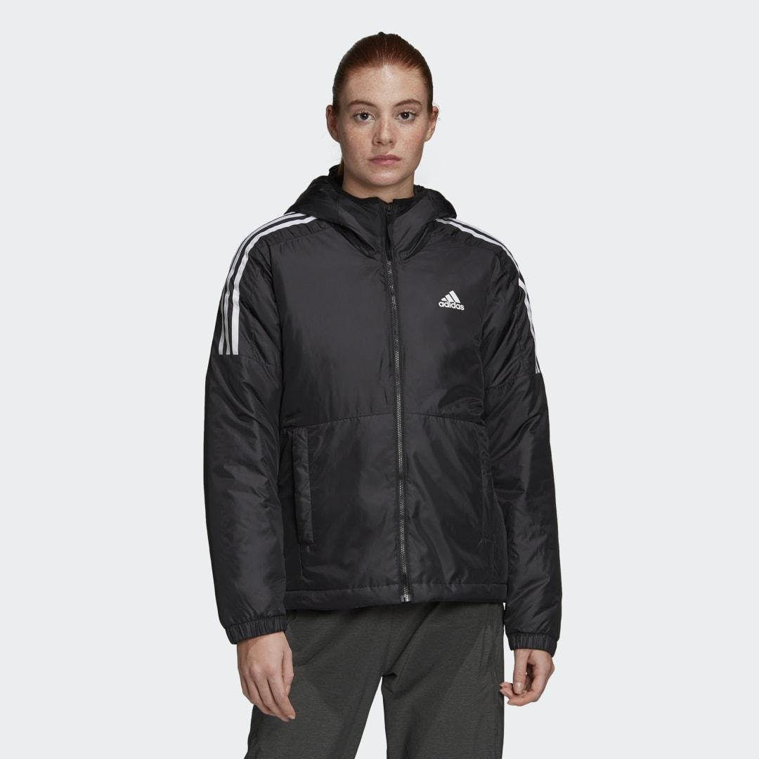 Essentials Insulated Hooded Jacket Black