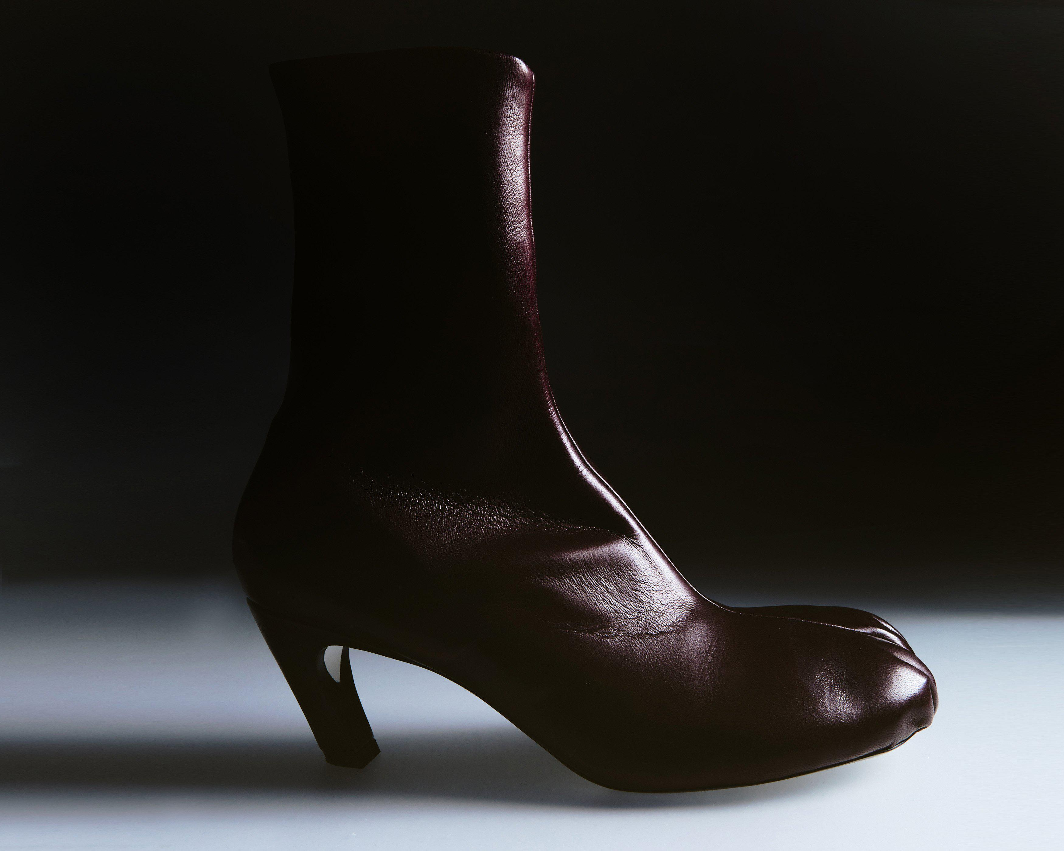 The Normandy Boot in Bordeaux Leather 4