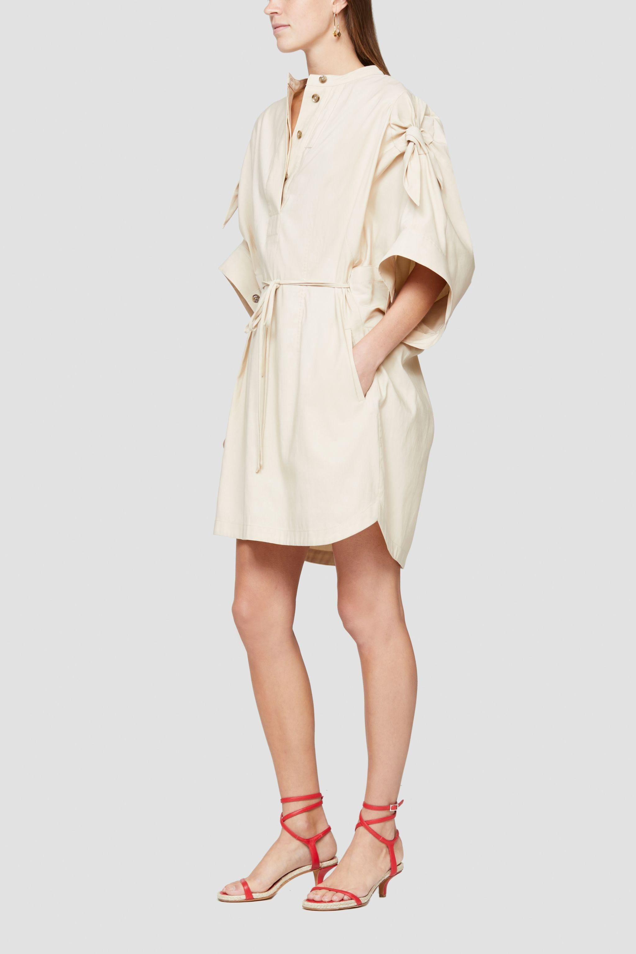 Knotted Sleeve Dress 2