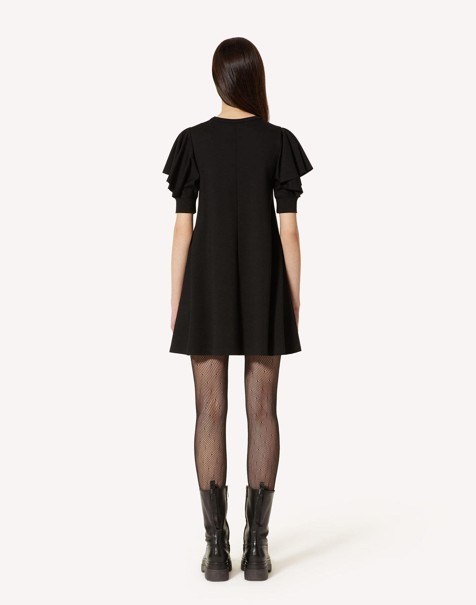 JERSEY DRESS WITH RUFFLE DETAIL 1