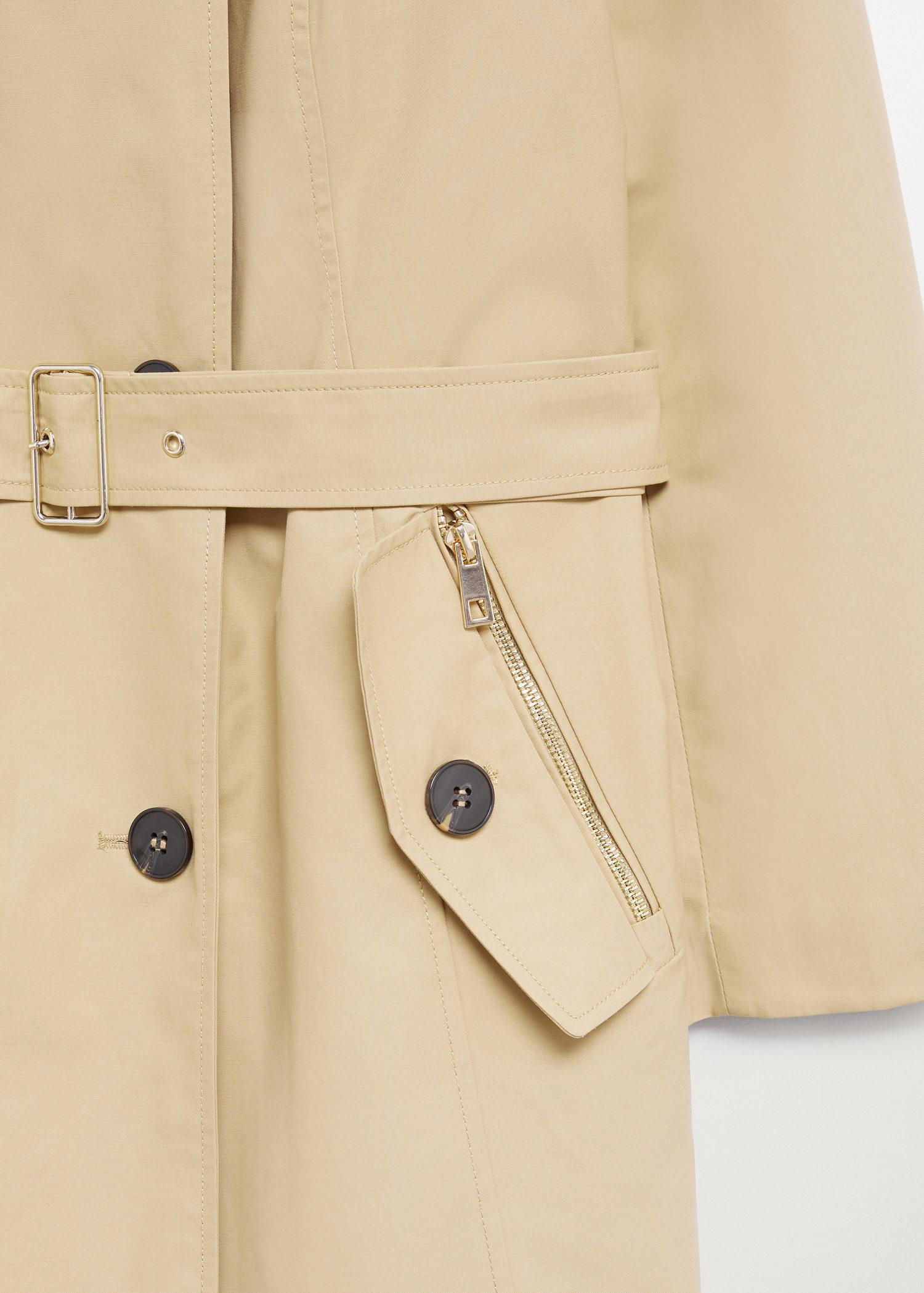 Classic belted trench 5