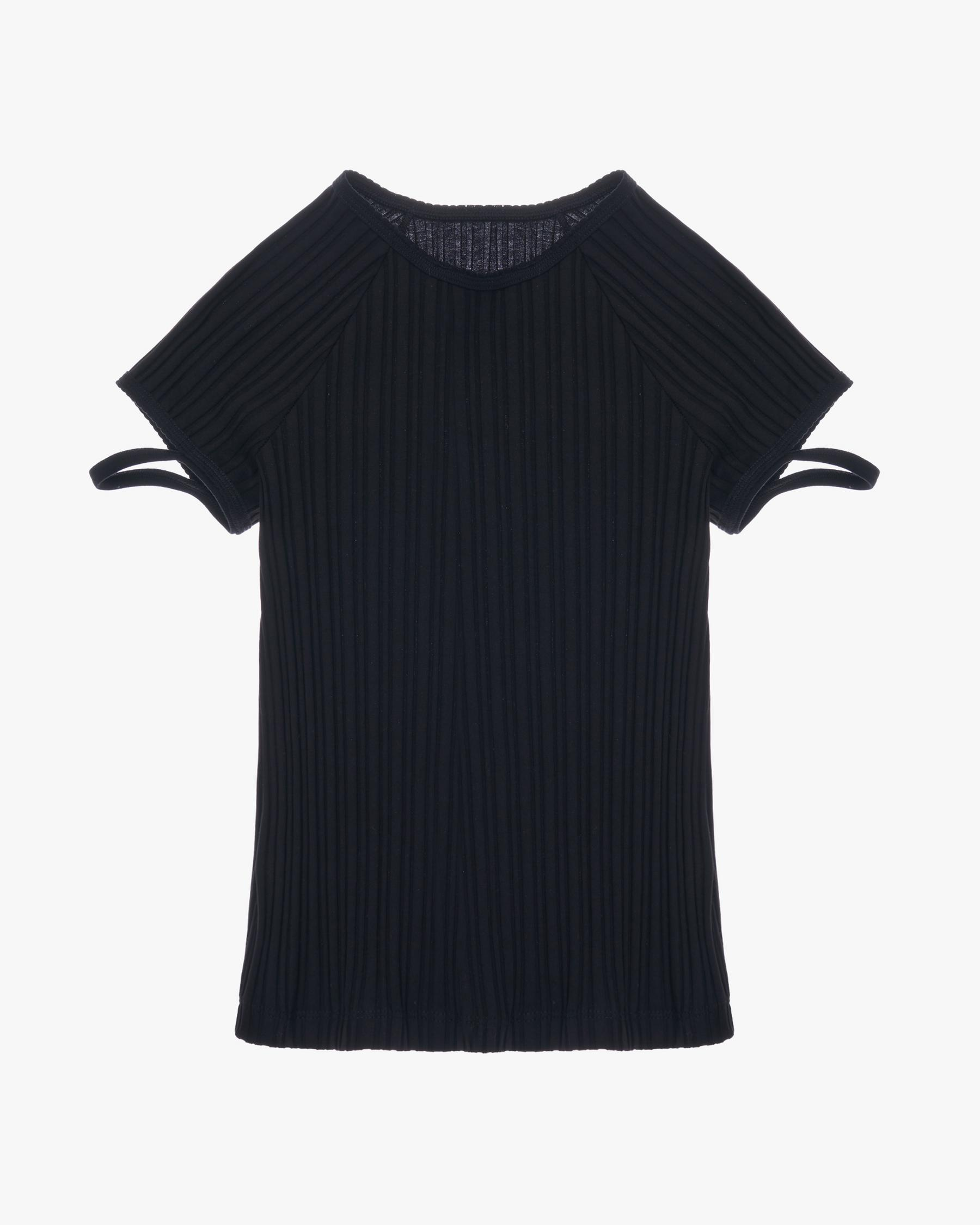 LITTLE RIBBED TEE 6