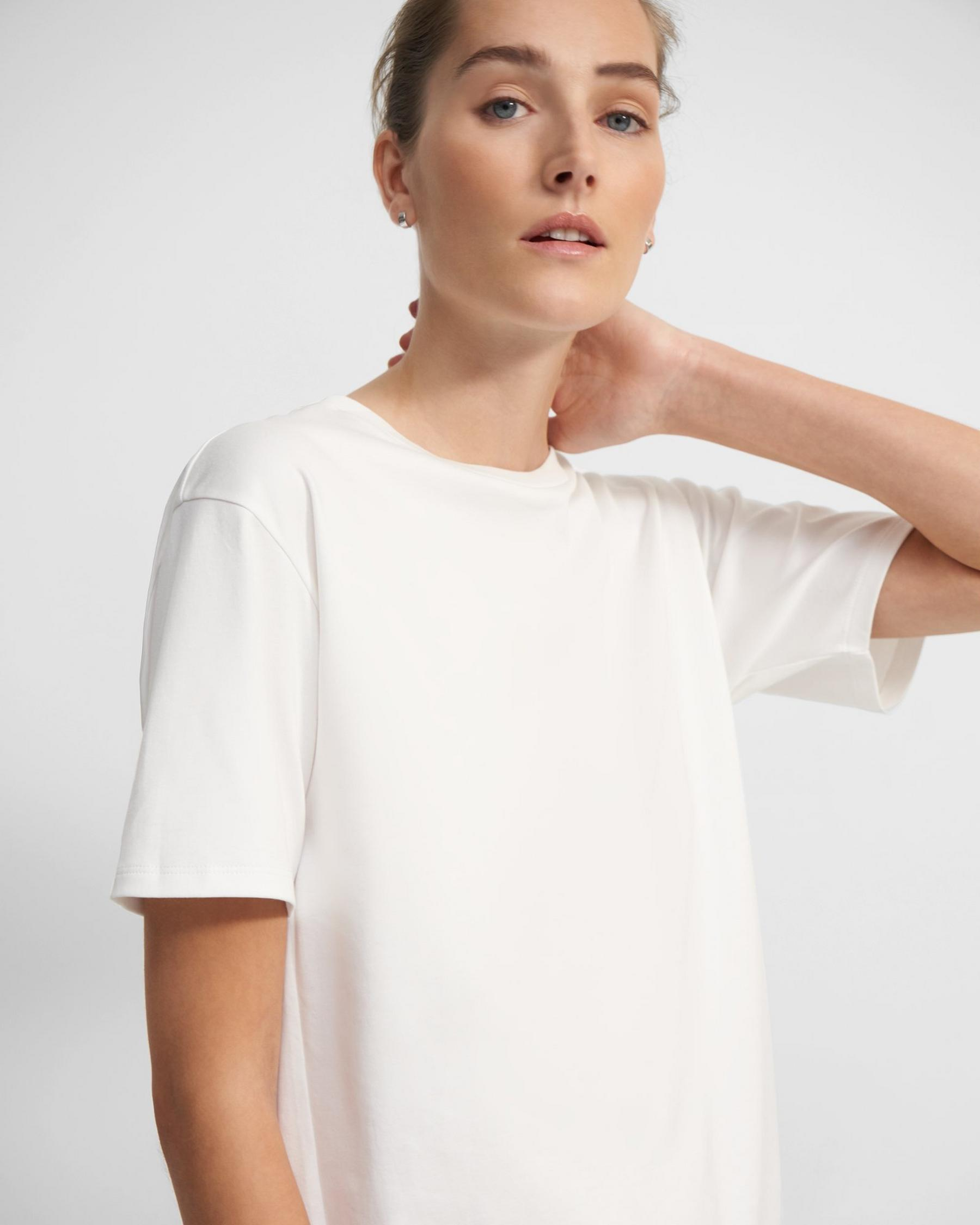 Short-Sleeve Perfect Tee in Cotton Jersey 1