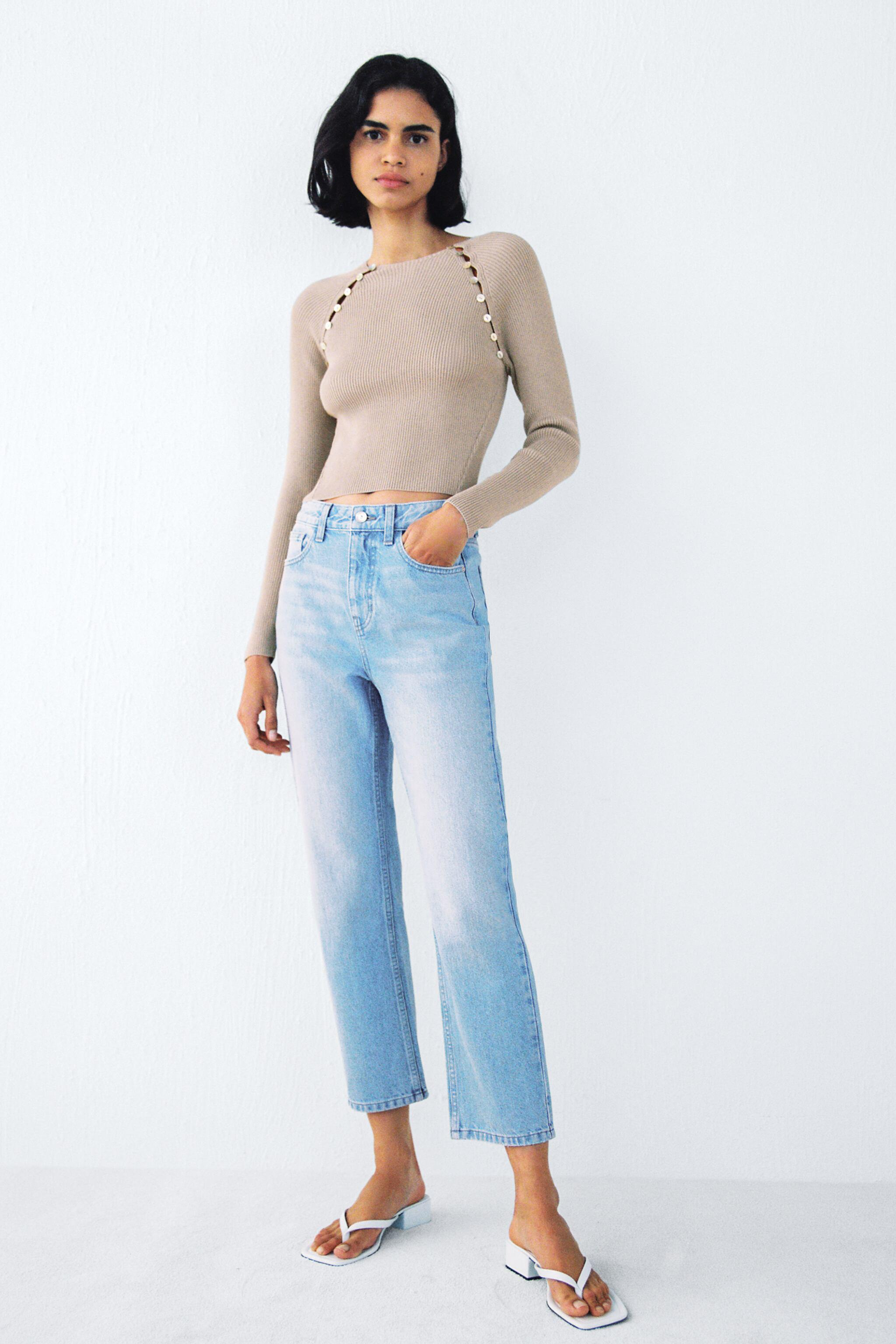 Z1975 HIGH RISE TAPERED JEANS