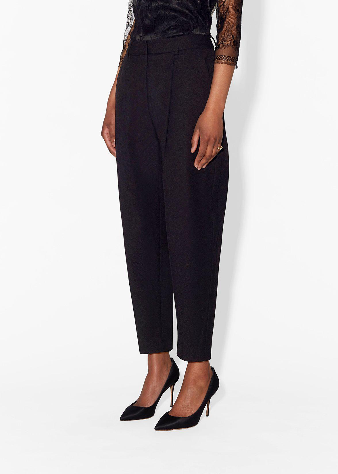 TAPERED PANT IN SUPER FINE WOOL