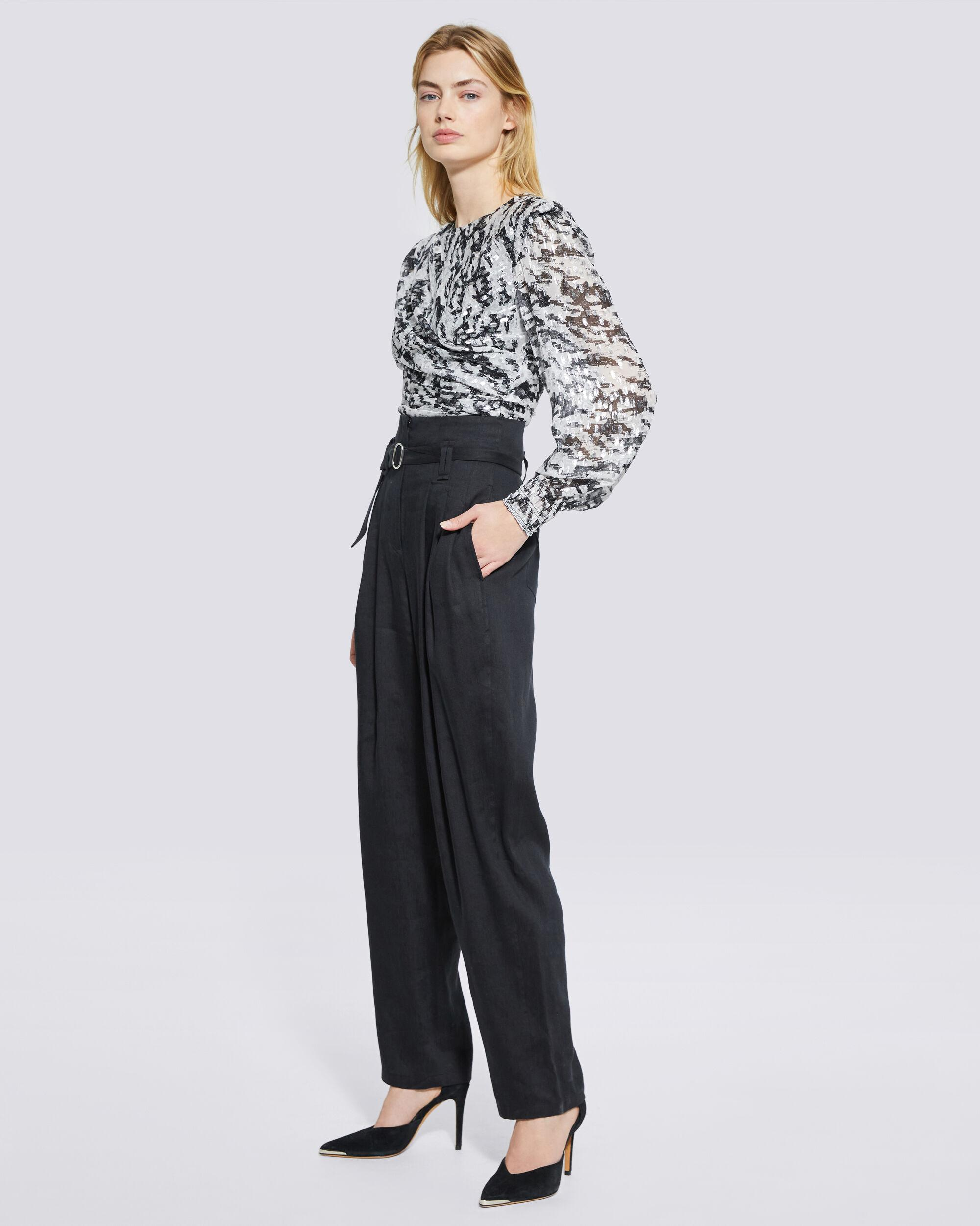 MARGATE PAPERBAG TAPERED TROUSER PANTS