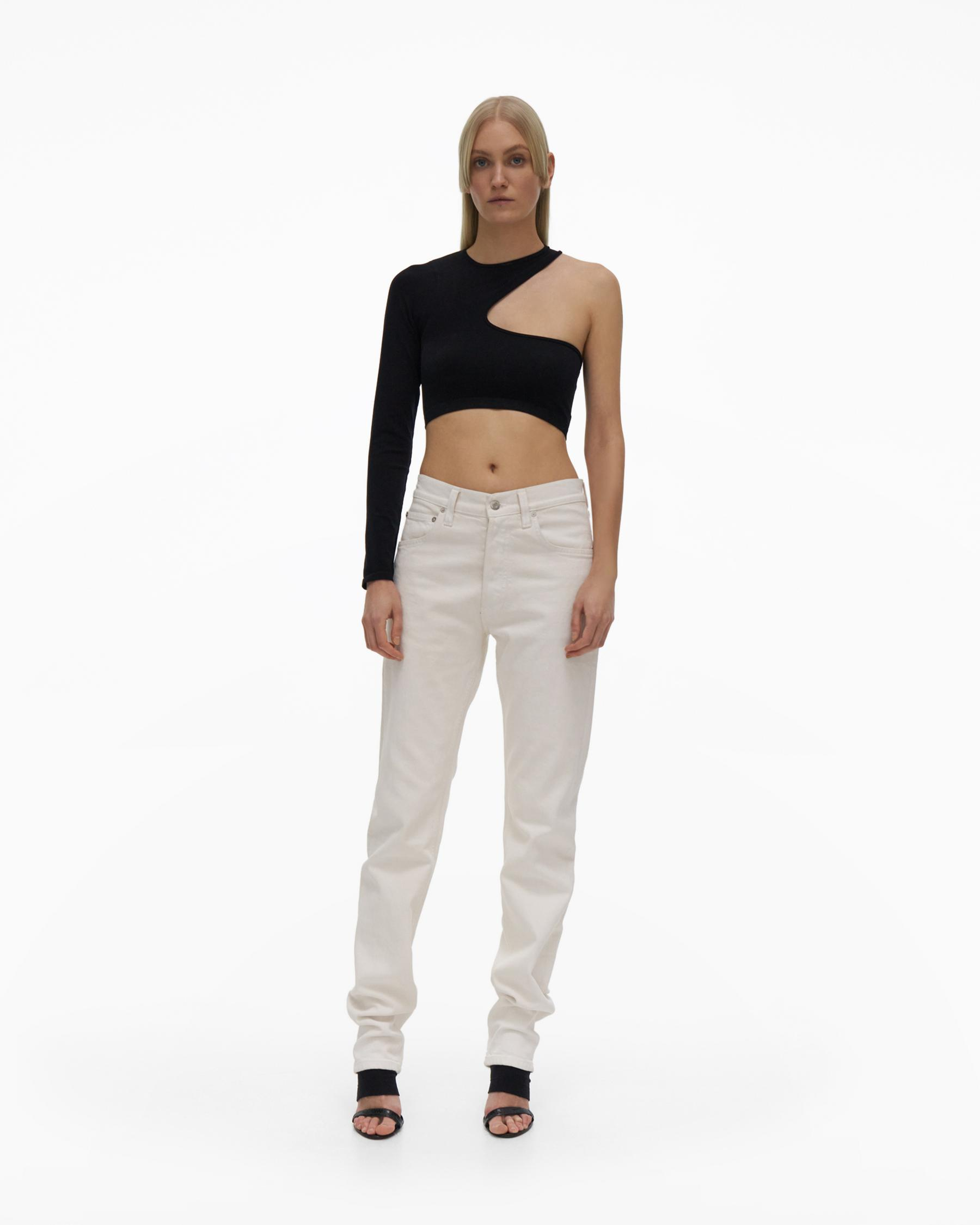 CROPPED CUTOUT TOP