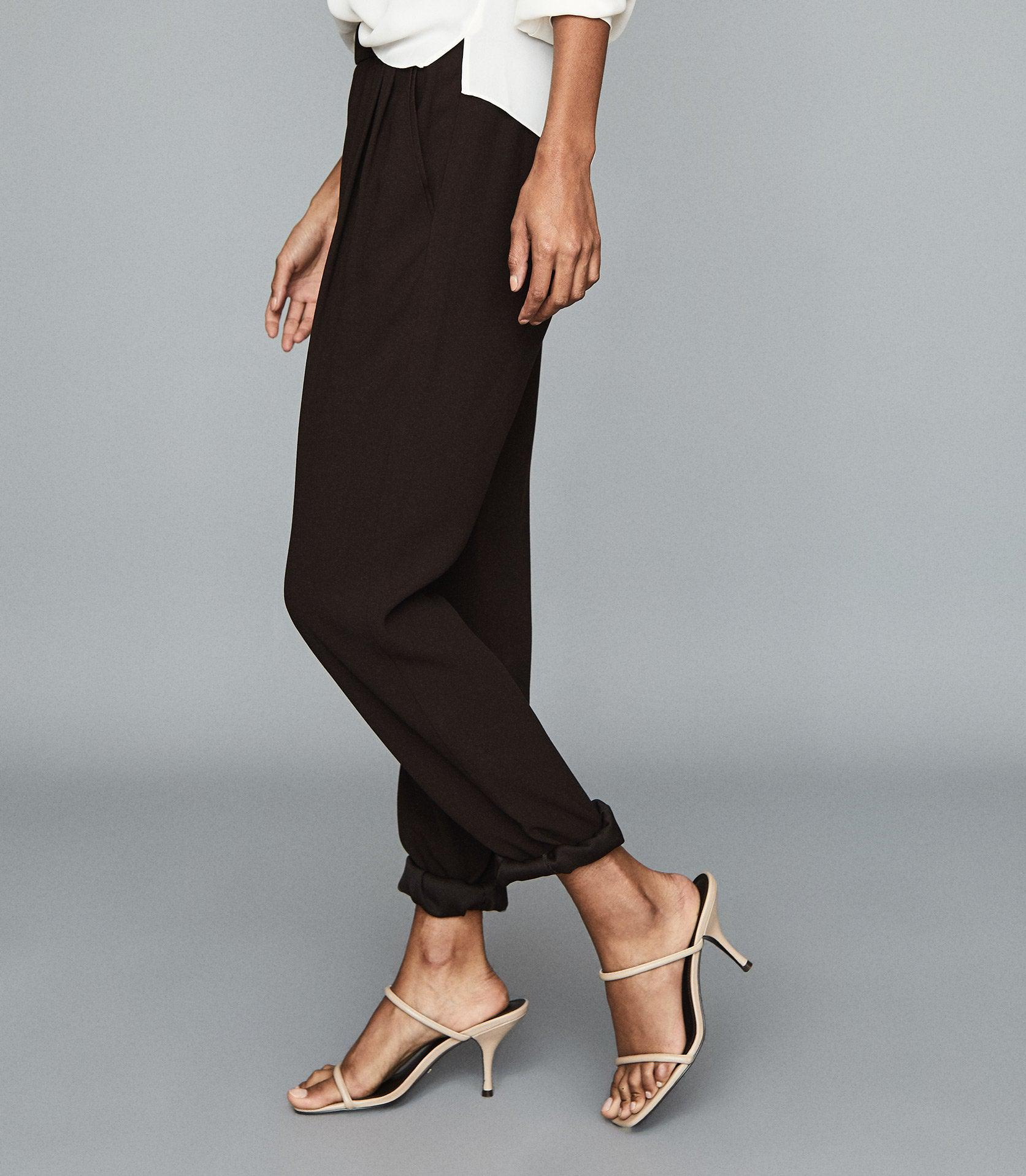 ROXY - RELAXED FIT TAPERED TROUSERS 2