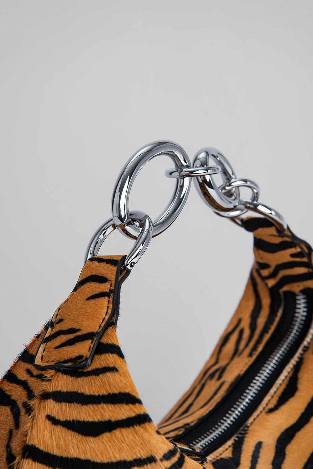 Bougie Tiger-Print Pony Hair Leather 2