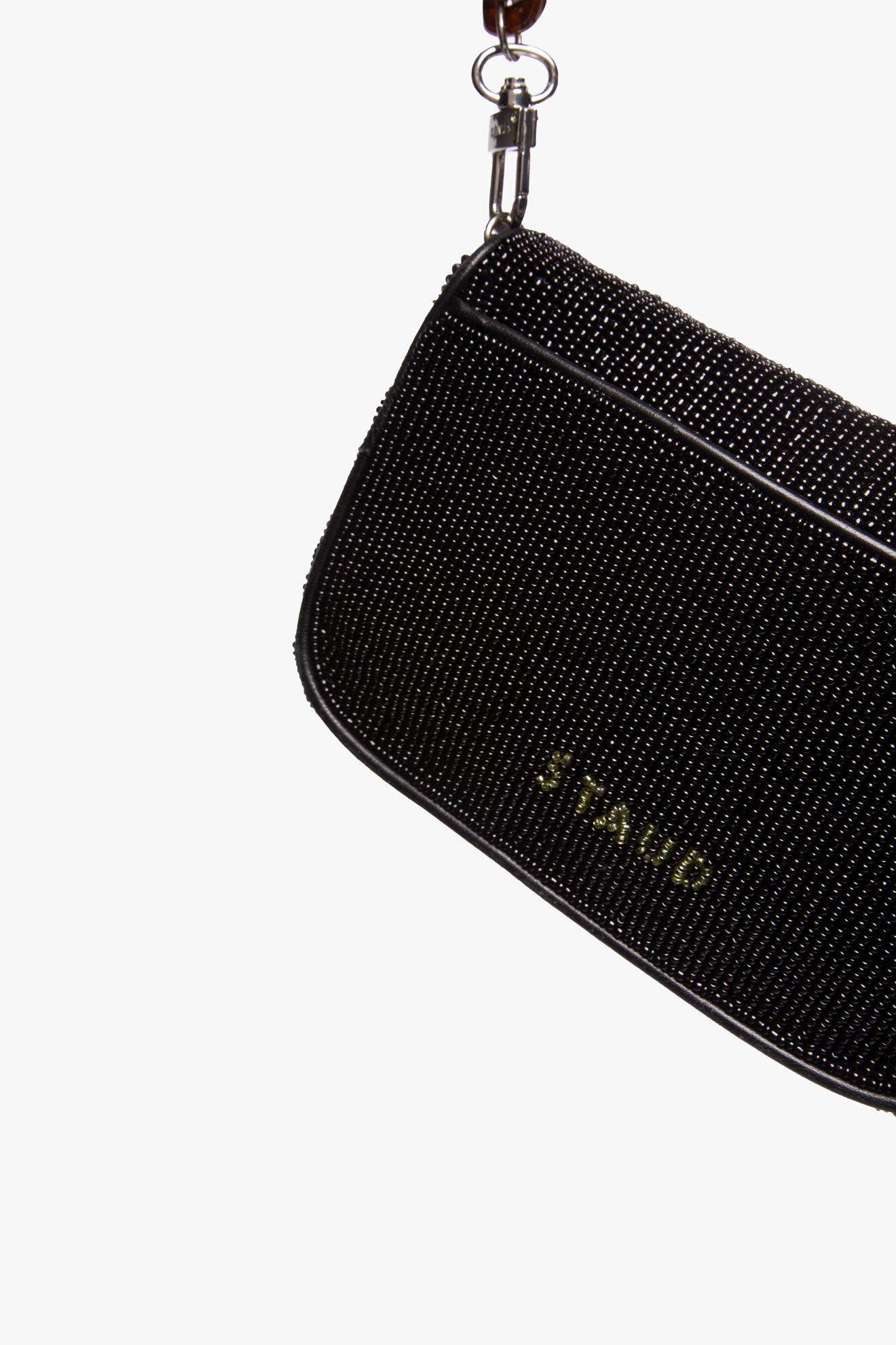 MINI TOMMY BEADED CHAIN BAG | PALM 8